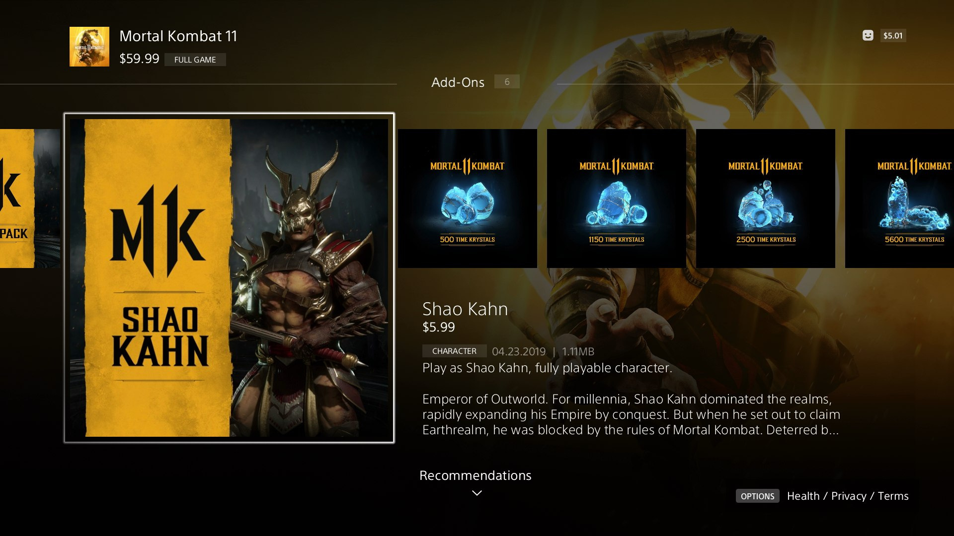 How To Unlock Shao Kahn In Mortal Kombat 11 Usgamer