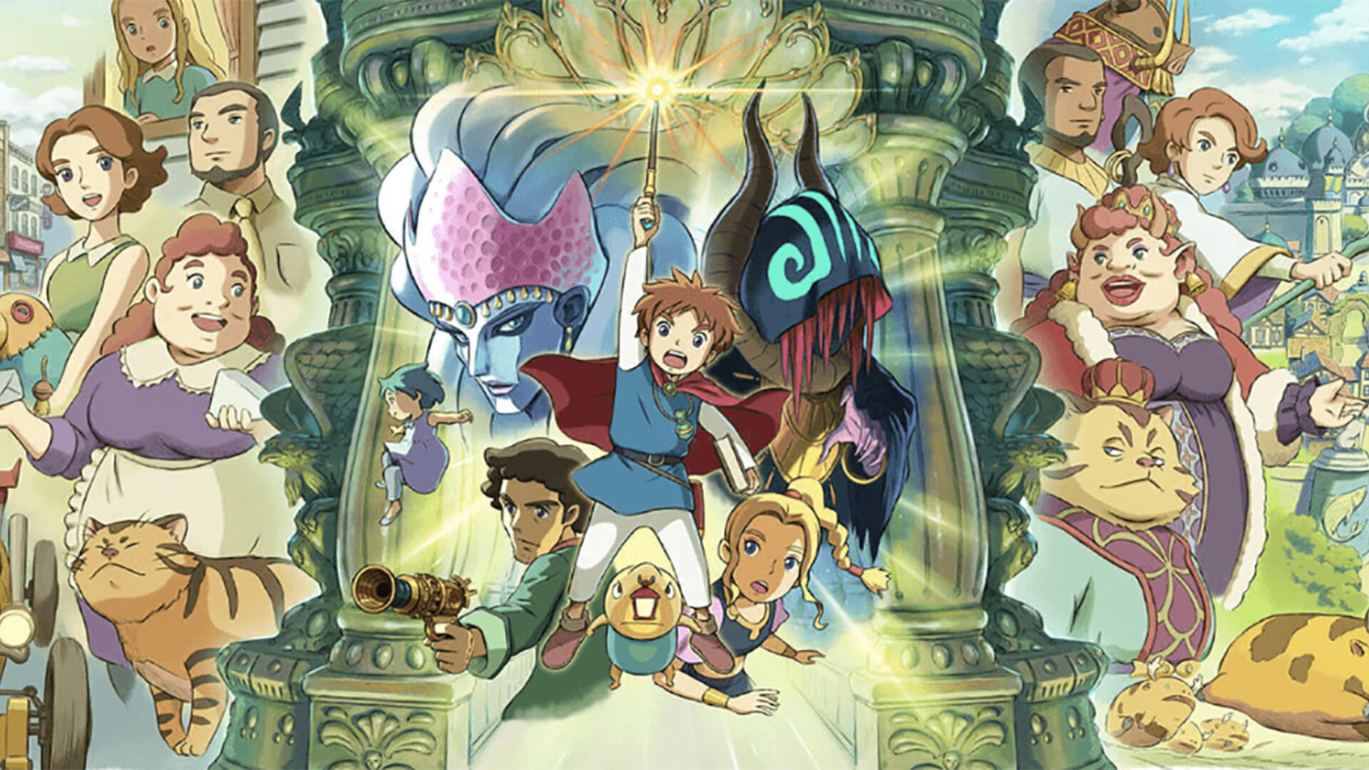 We Went Hands-On With Ni No Kuni Remastered, And It's Beautiful