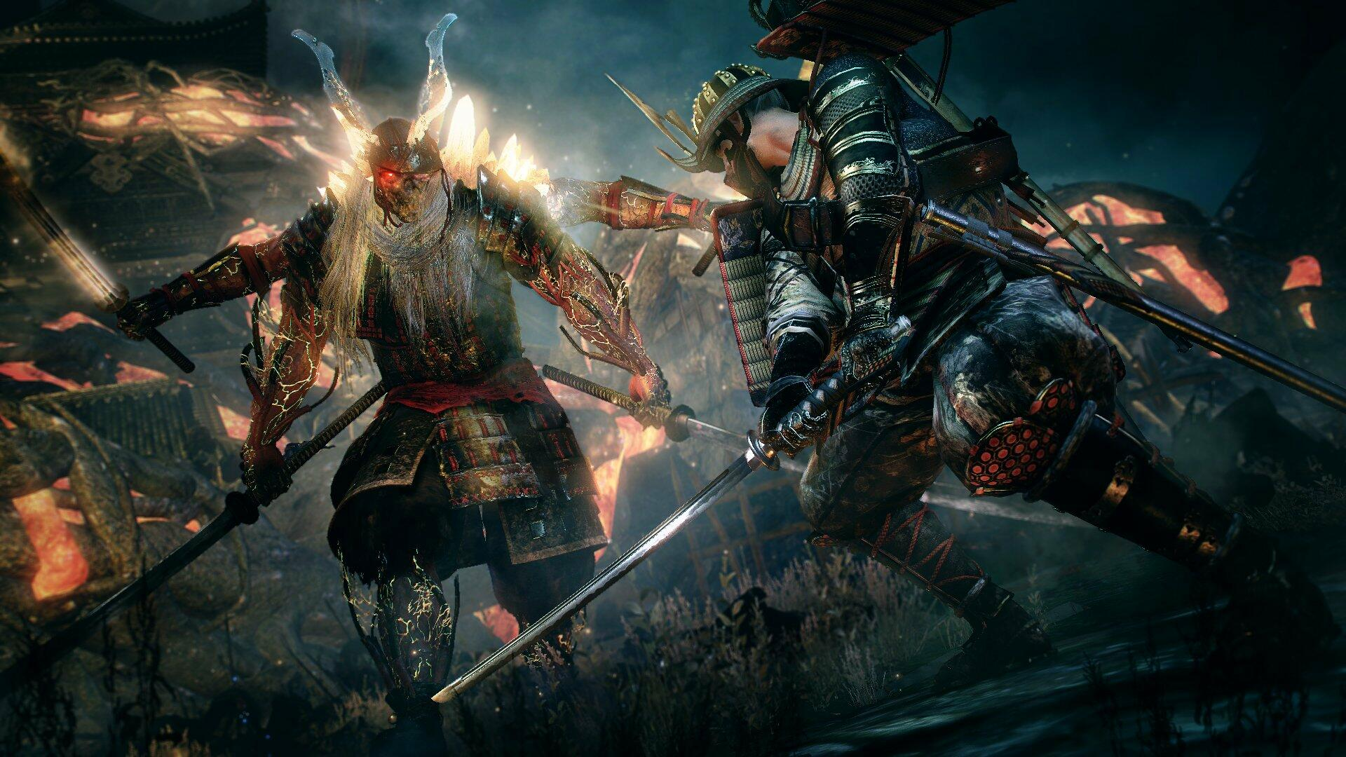 First Gameplay For Nioh 2 Shown In Trailer For Closed Alpha | USgamer