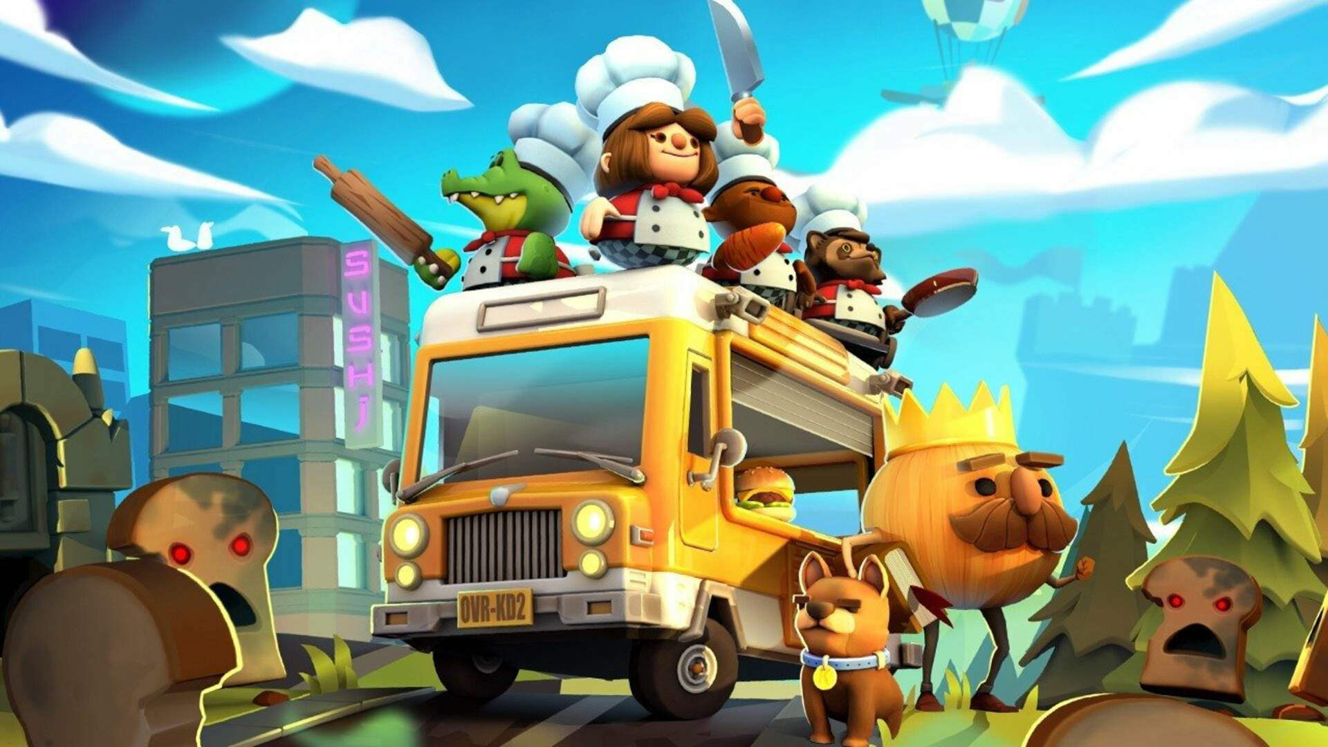 Overcooked 2 Beat Out Pokemon for a Top Spot on Japan's Switch Digital Downloads