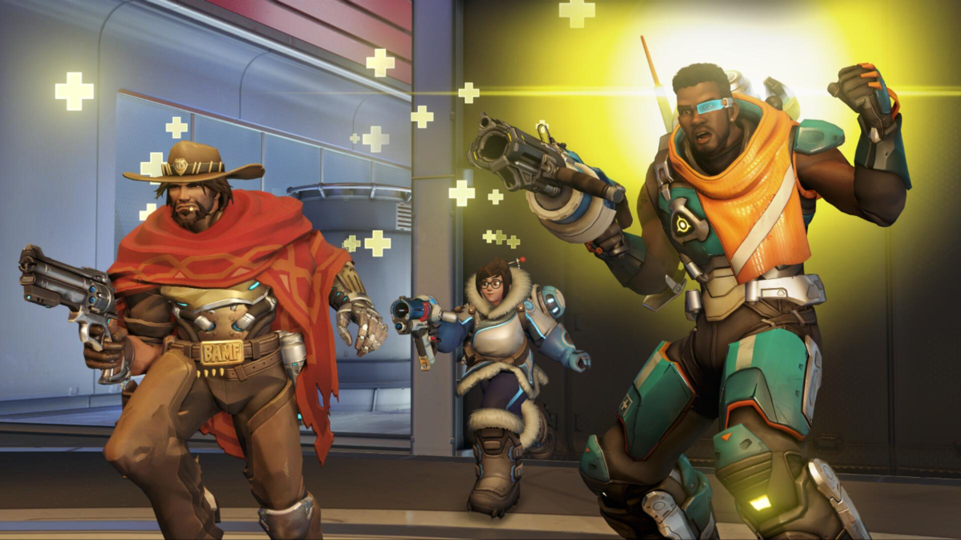 Overwatch's New Hero Baptiste Is Coming to All Platforms Next Week