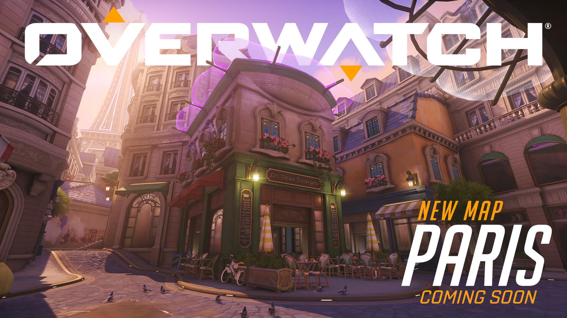 Overwatch Fans are Going Nuts for a Romantic New Paris Map That's Live on PTR