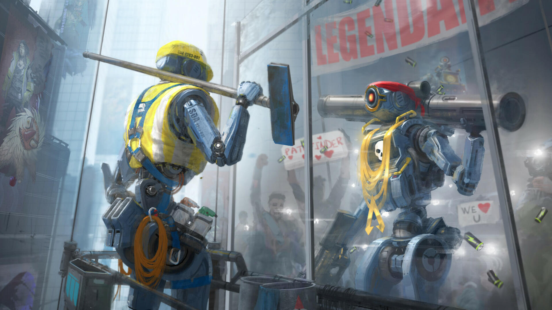 Apex Legends Lets You Swing With a Grapple Hook off of Crypto's Drone, and it Looks Incredible