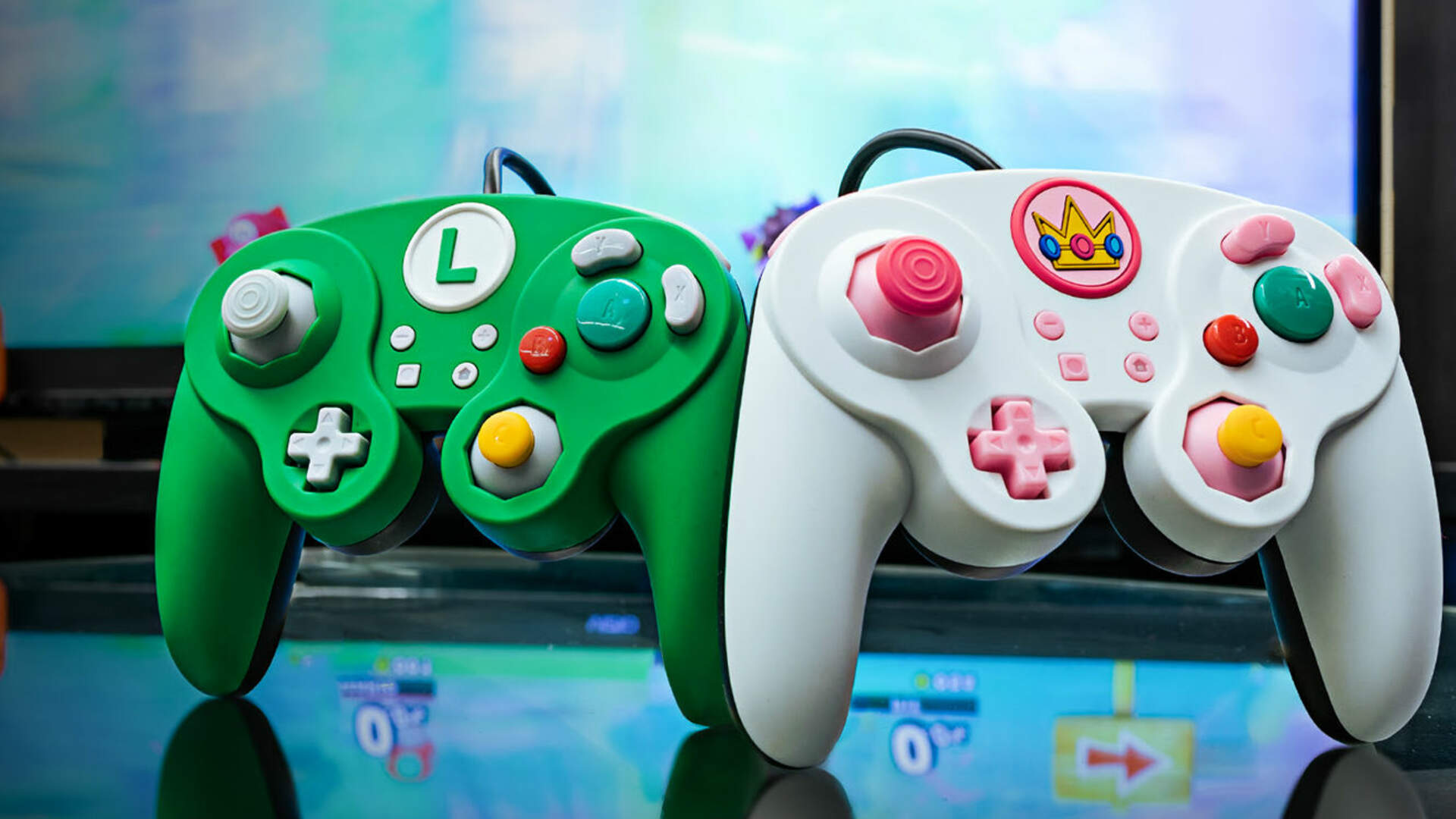 Here Are Some Fun Mario-Themed Super Smash Bros. Controllers