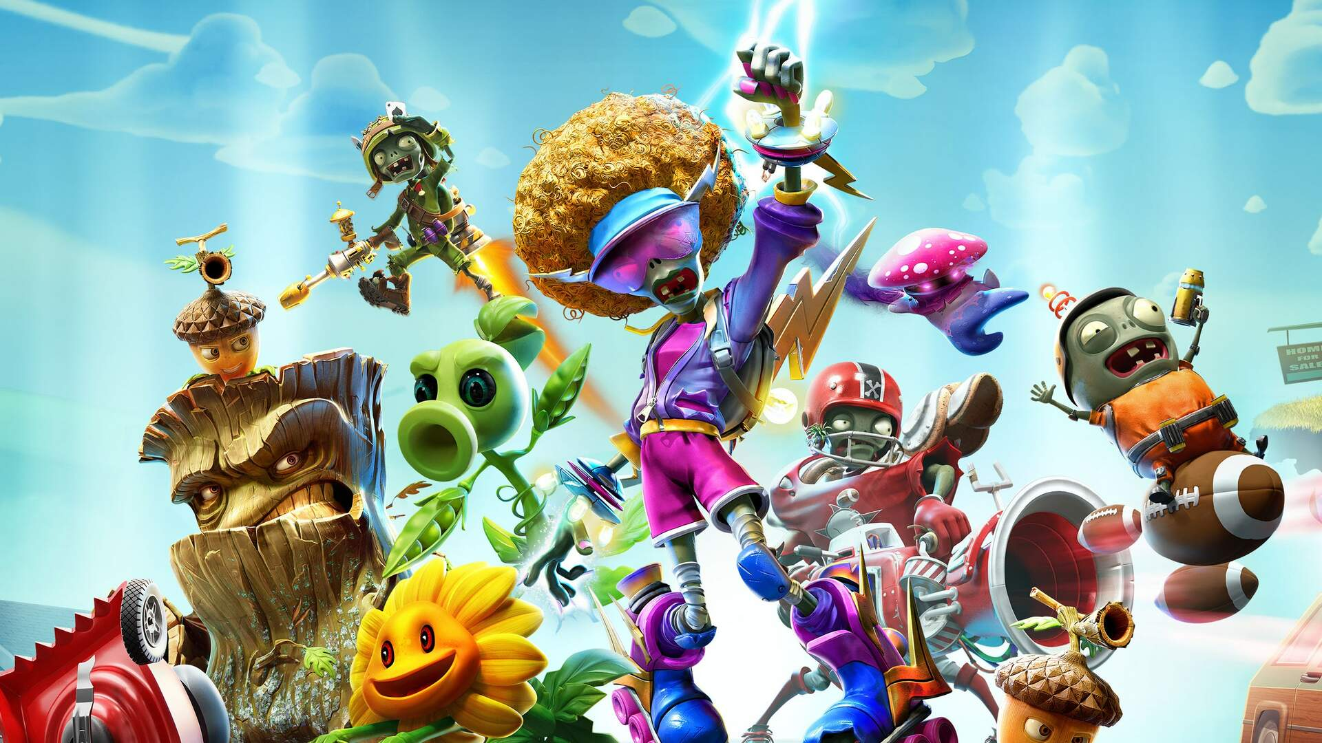 Plants vs. Zombies: Battle for Neighborville Launches in Early Access Today