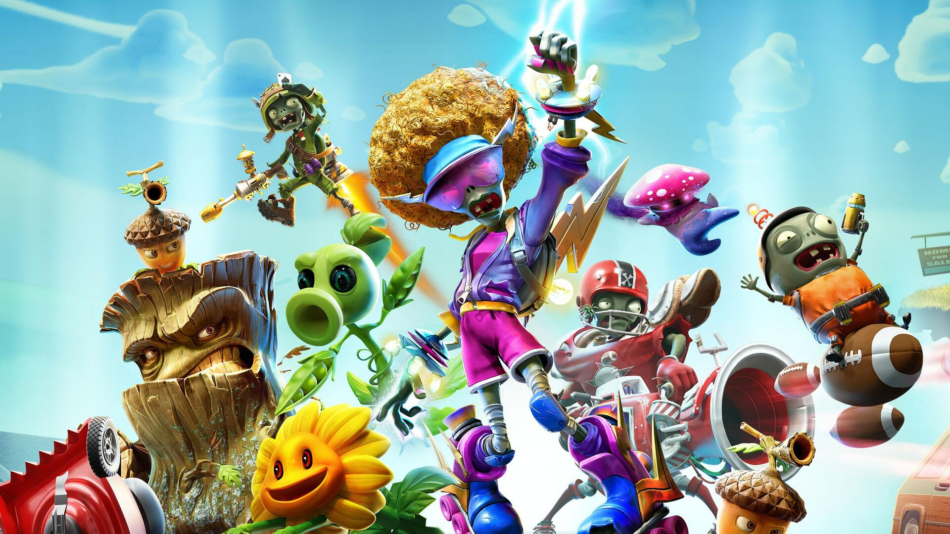 Plants vs  Zombies: Battle for Neighborville Launches in