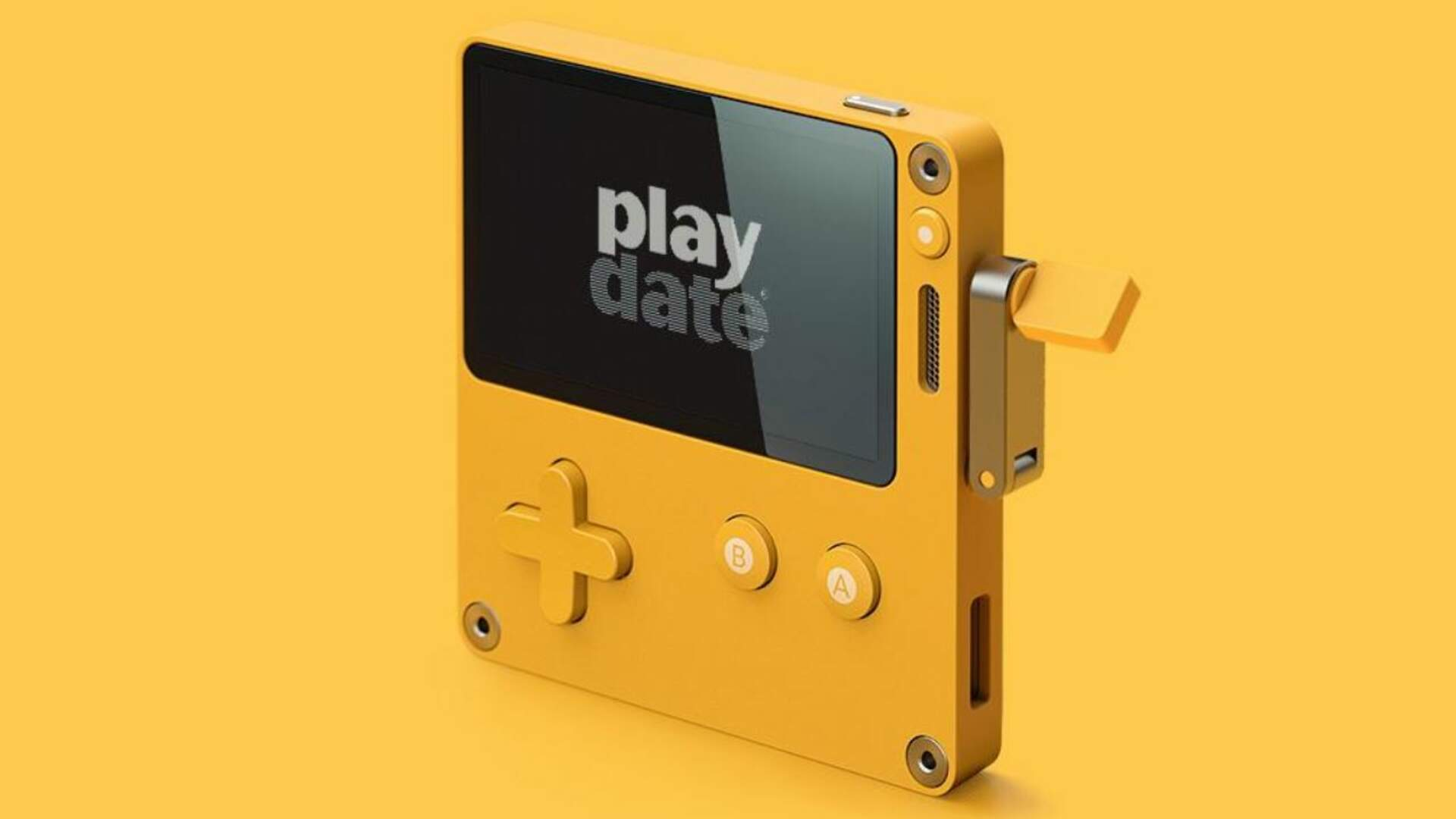 Playdate is a Brand New Video Game Handheld Featuring Exclusive Games by Keita Takahashi, Bennett Foddy, and More