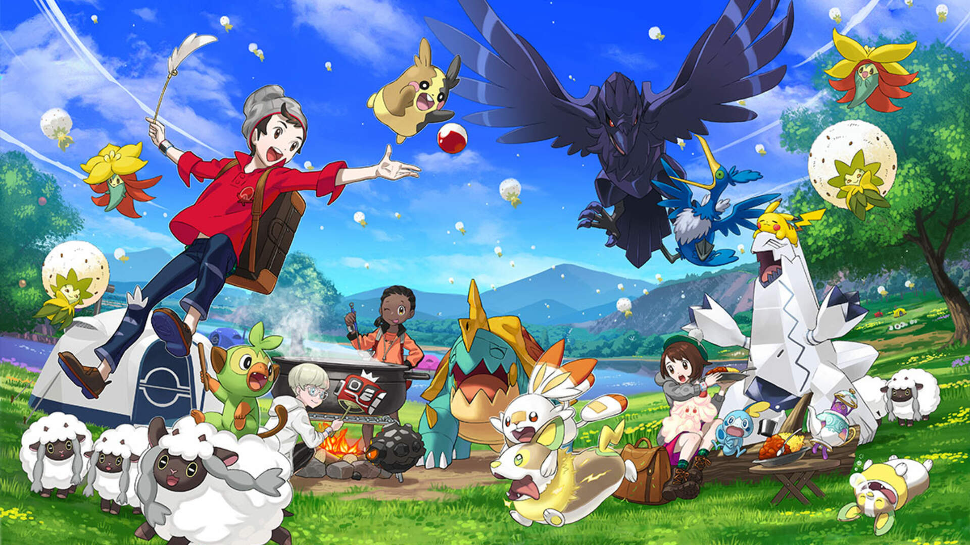 Pokemon Day 2020 Will Provide Our First Look at a New Mythical Pokemon for Sword and Shield