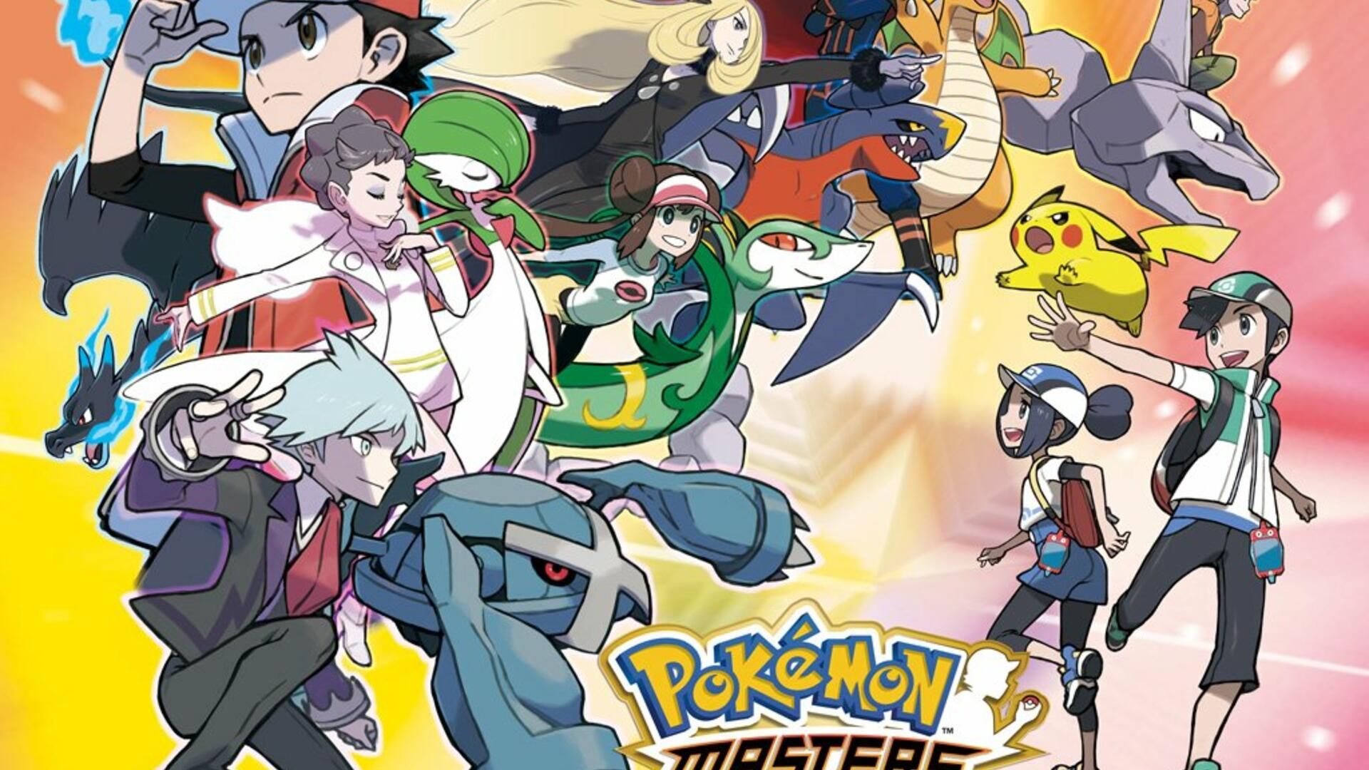 Pokemon Masters is a New Smartphone Game That Lets You Team Up With Famous Gym Leaders