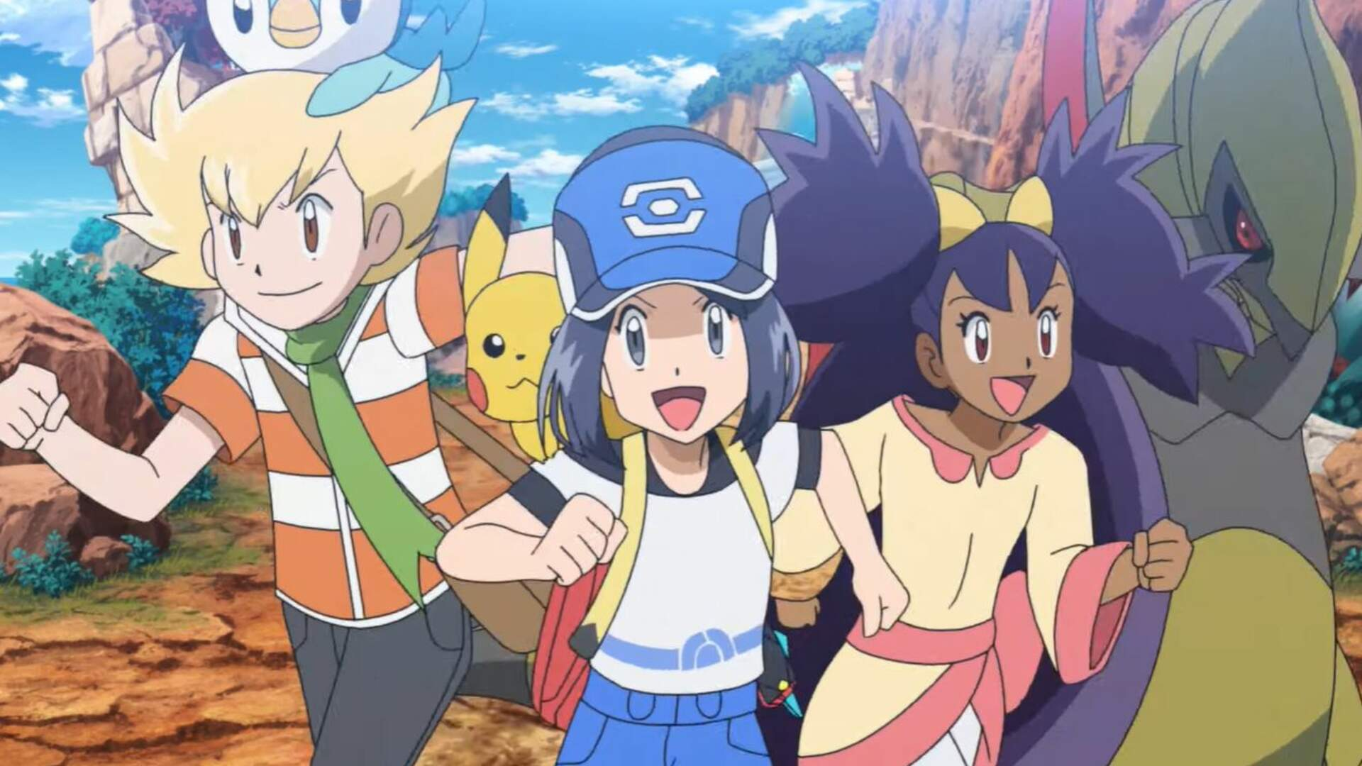 Pokemon Masters Has You Work With Friends To Dominate Poke-Hell Island
