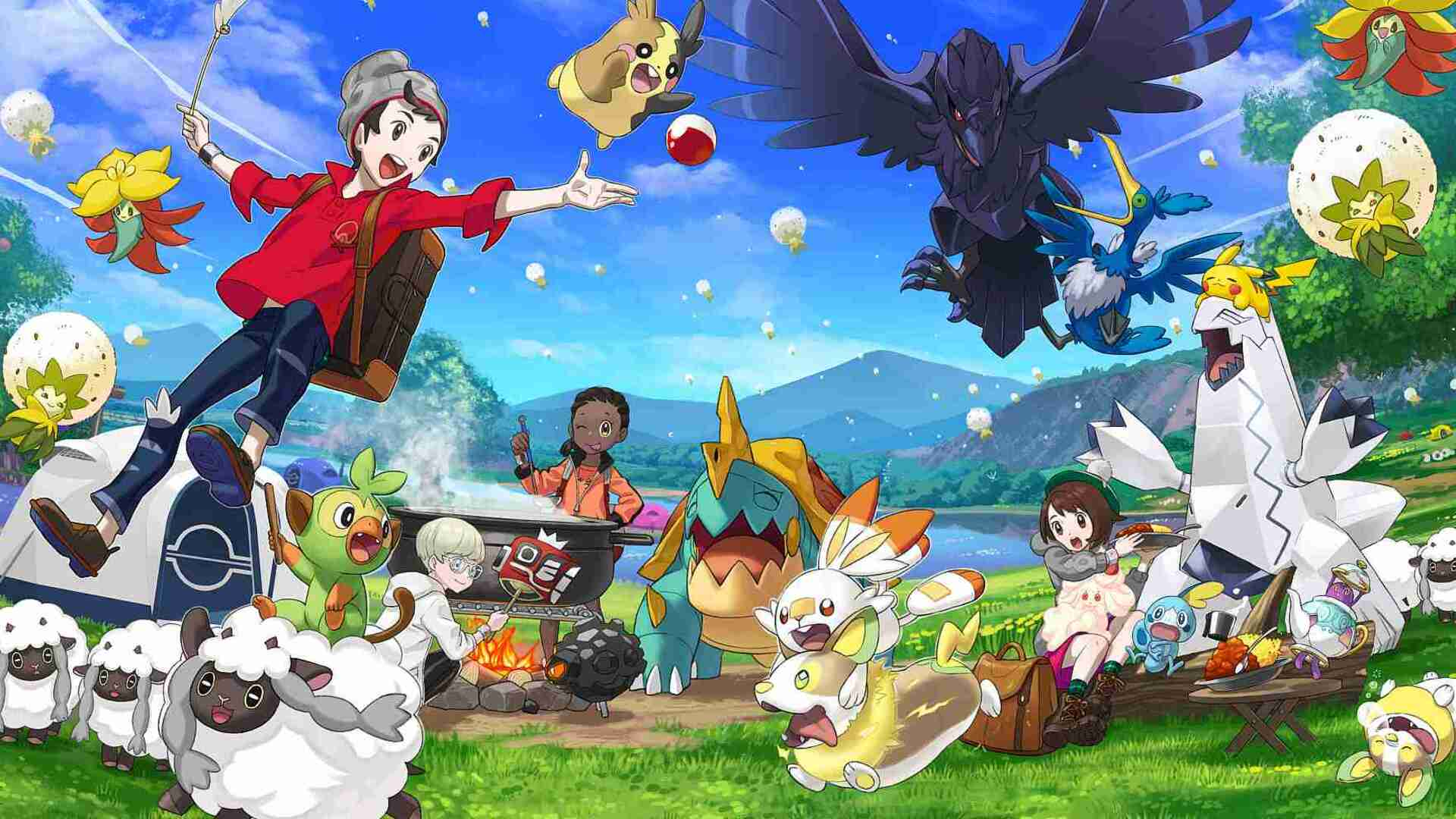 Pokemon Sword and Shield is Lovely and Warm, but Not a Next-Gen Pokemon Game
