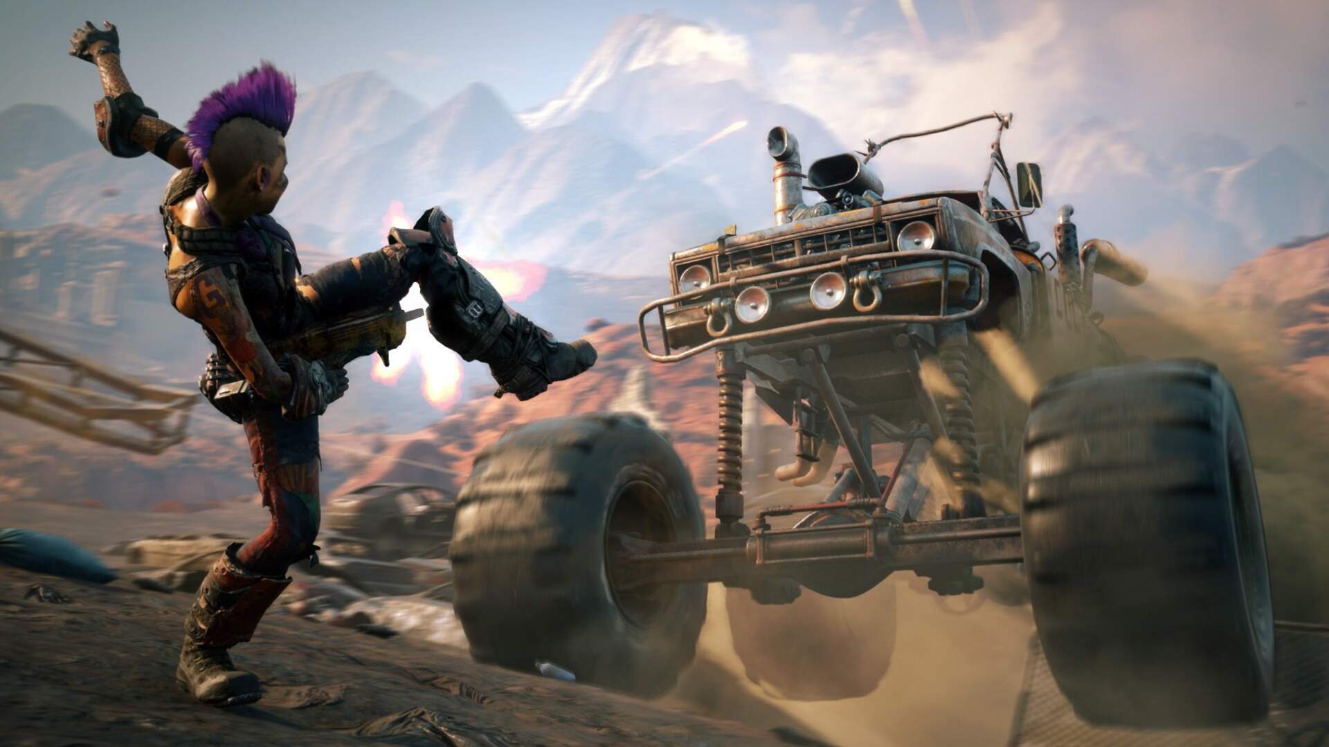 Rage 2's Vehicle Combat Needs Some Tuning, but is Already Producing Wild Gameplay Sequences