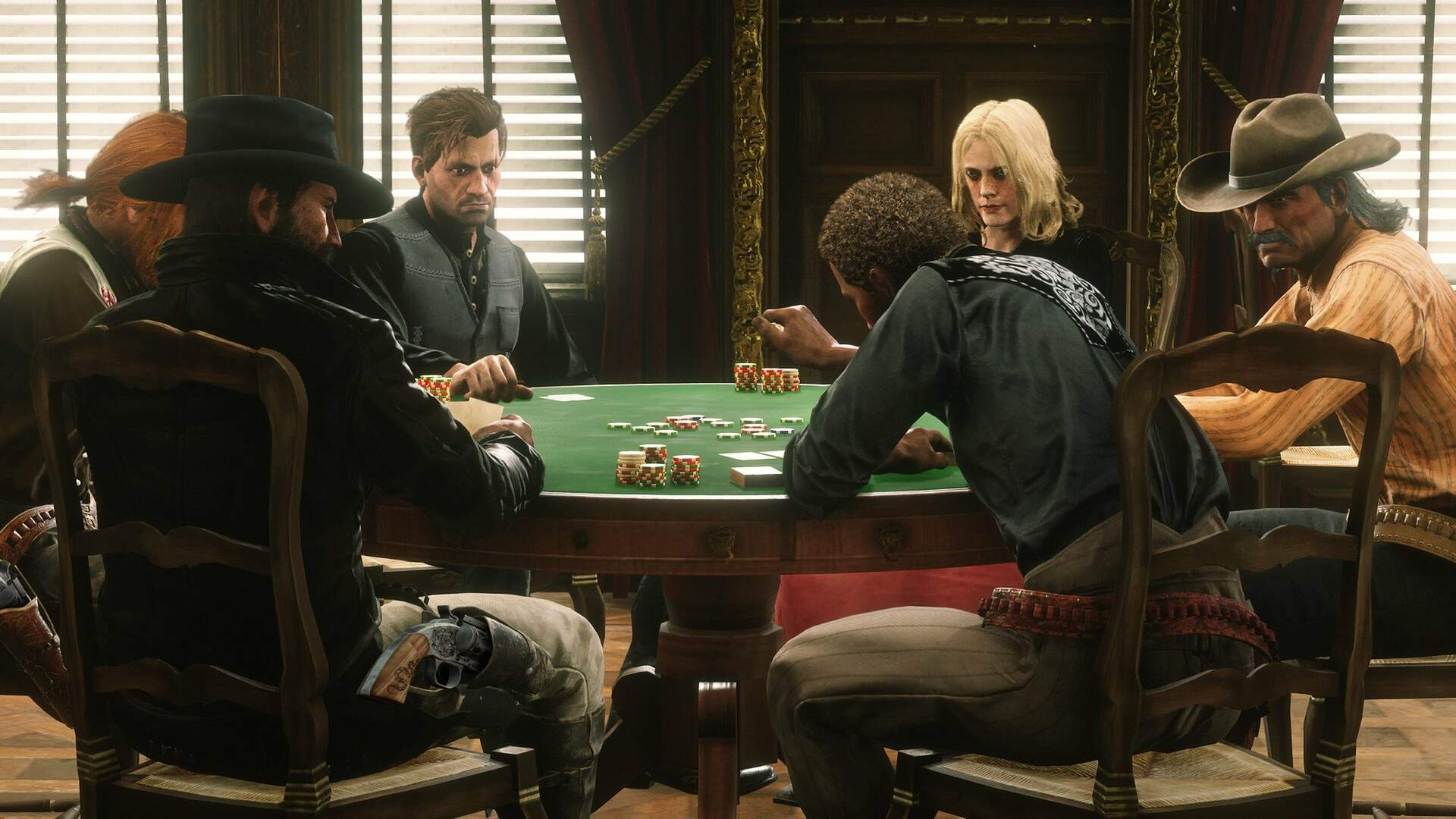 Some Red Dead Online Players Can't Play Poker Due To Regional Gambling Regulations