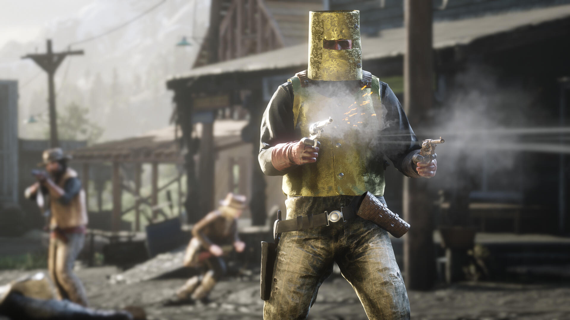 Red Dead Online's New PvP Mode Embraces GTA Online's Silliness
