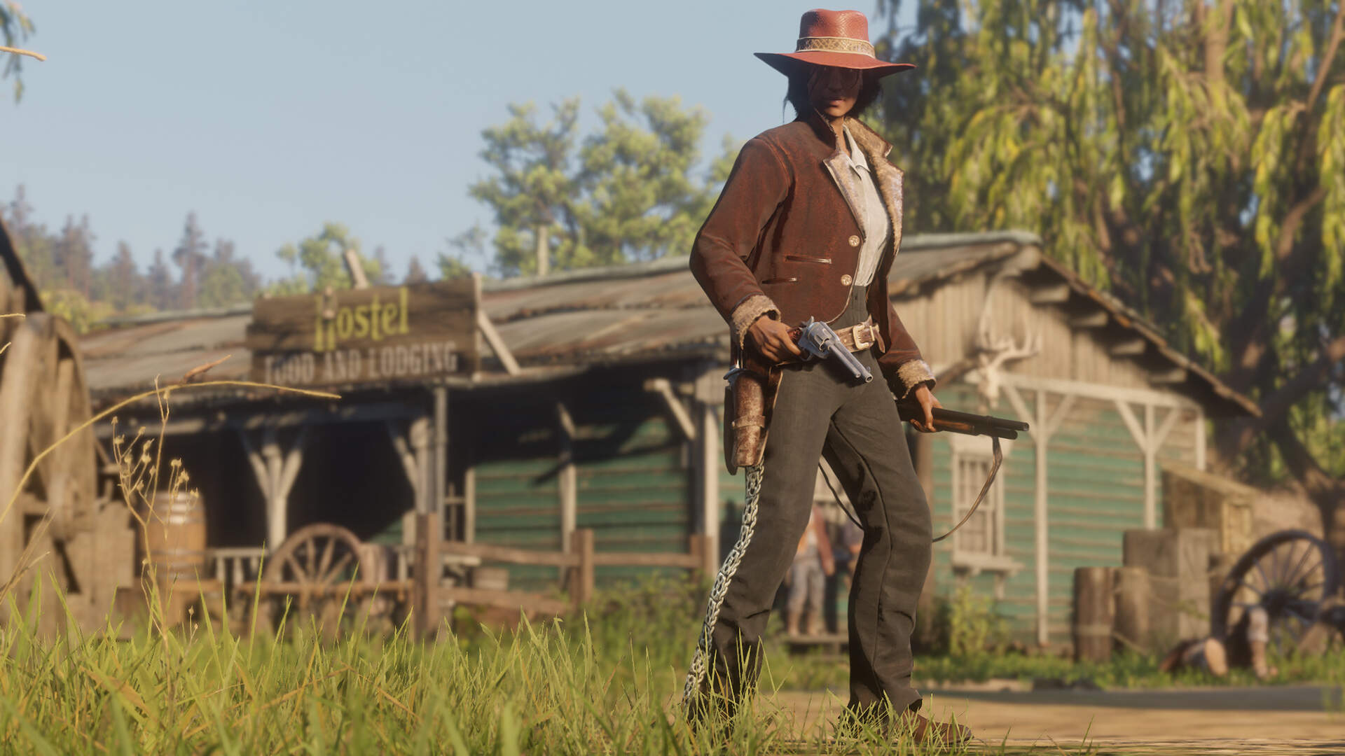 How to Dual-Wield in Red Dead Online