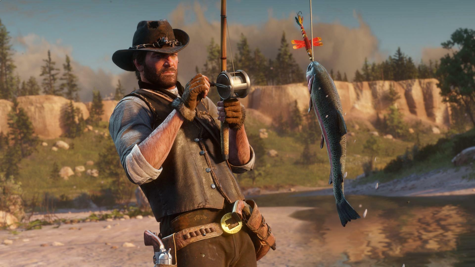 Red Dead Online's Dead Horse Fix Also Shut Down Money Making Fish Glitch