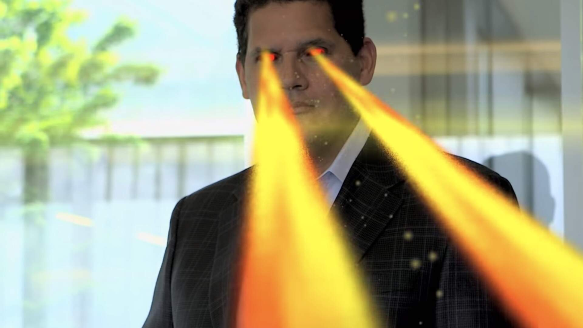 Reggie Fils-Aimé Received A Plastic Ass So He Can Keep Kicking Ass Even After His Retirement From Nintendo