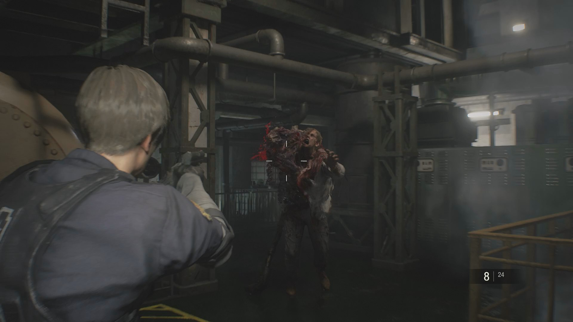Resident Evil 2 Birkin Boss Defeat William Birkin Sewers Boss In