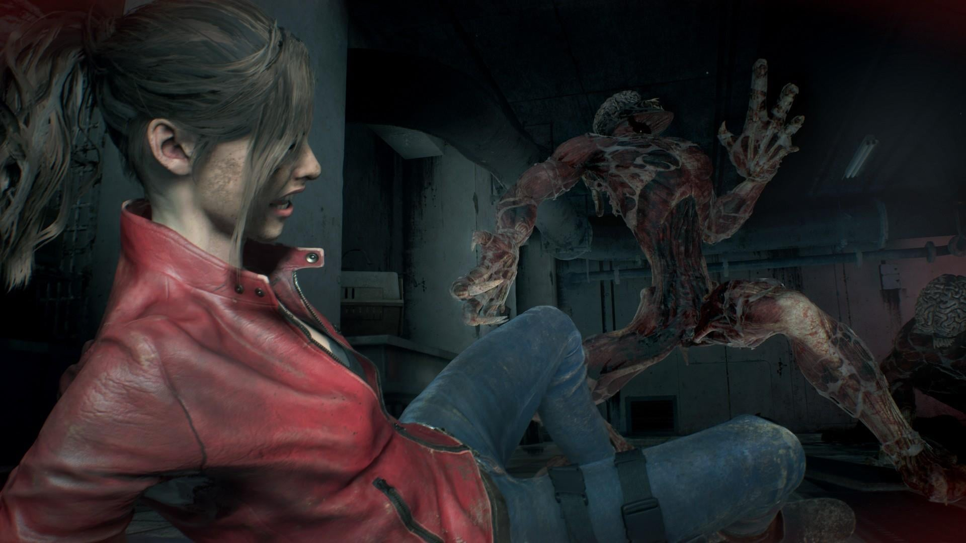 Resident Evil 2 Lickers How To Kill Lickers In Resident