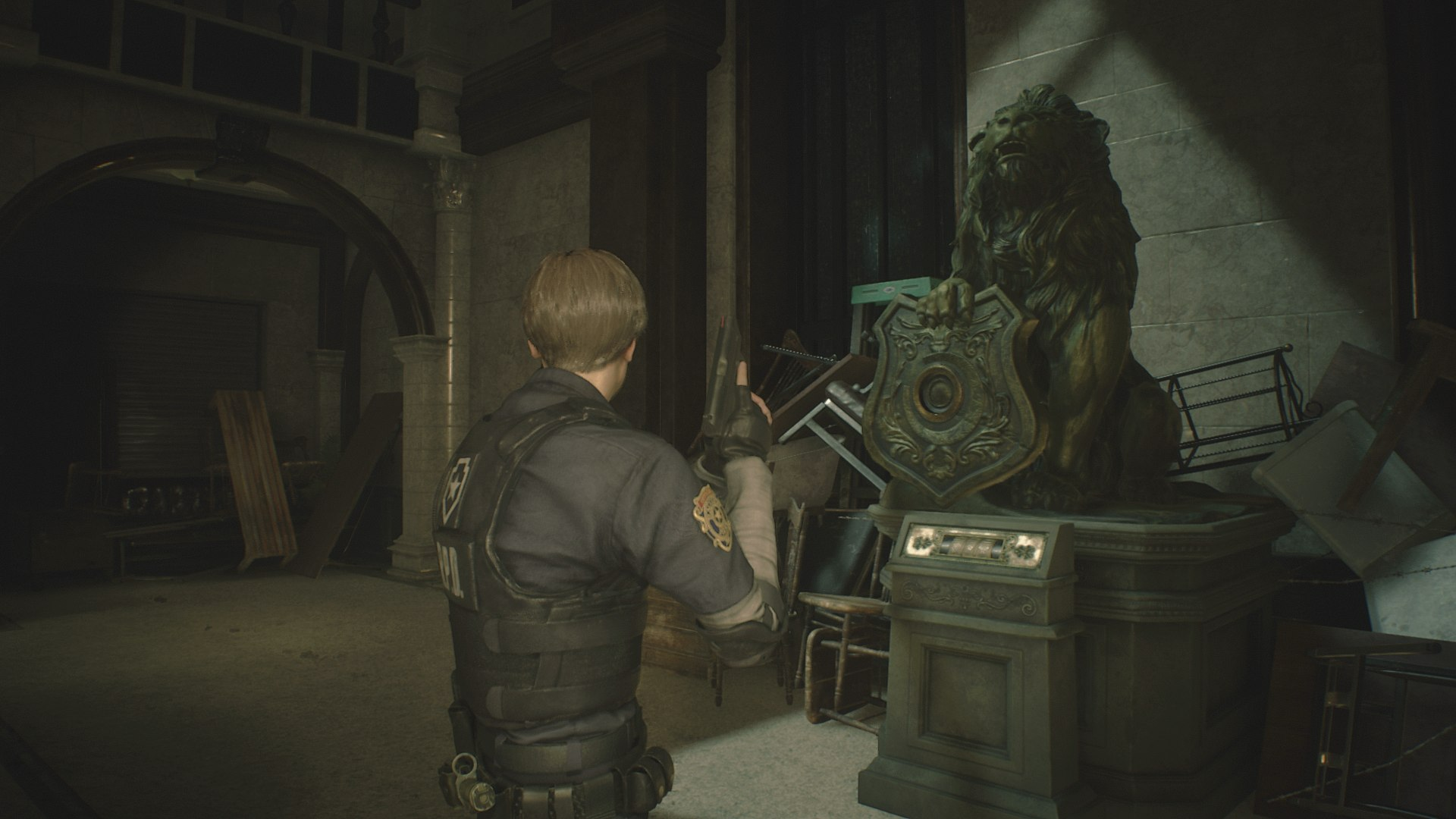 Resident Evil 2 Medallions - How to Unlock the Lion, Maiden