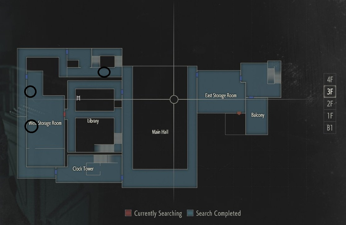 resident evil 2 remake rpd map