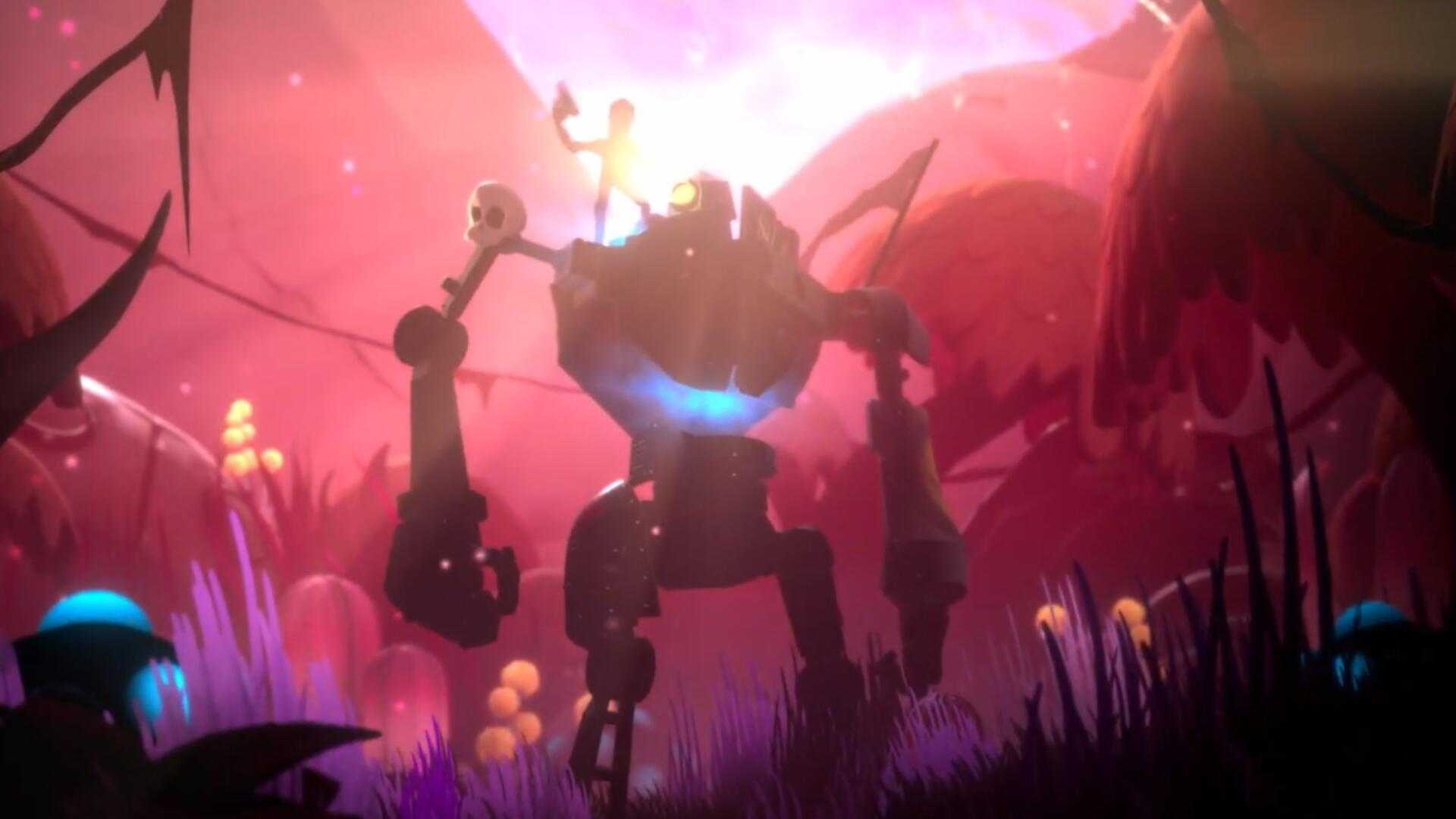 EA Announces New EA Original Rustheart, A Game About Customizing and Befriending a Big Robot