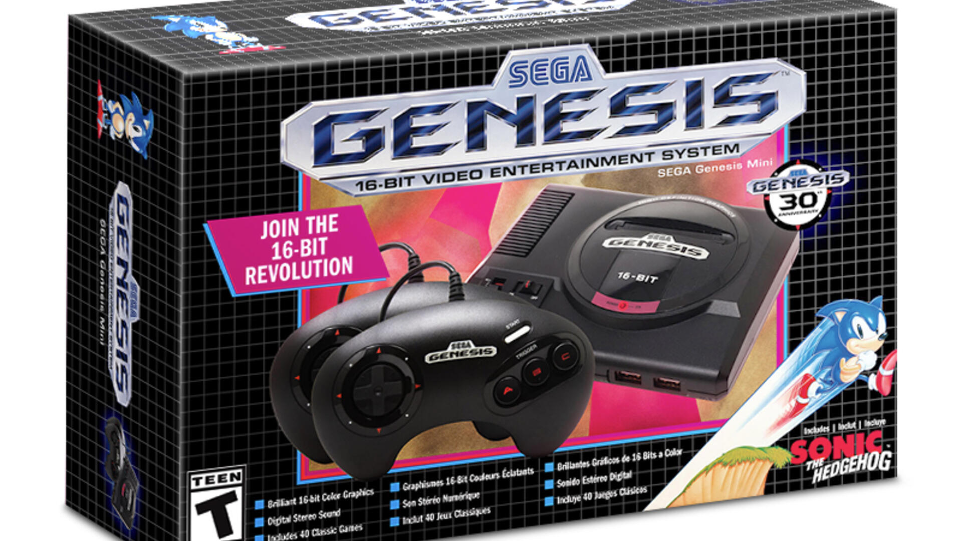 Sega Genesis Mini Will Release in September With 40 Games