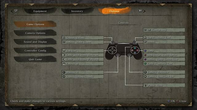 Sekiro Controls Guide - Complete Controls Layout for