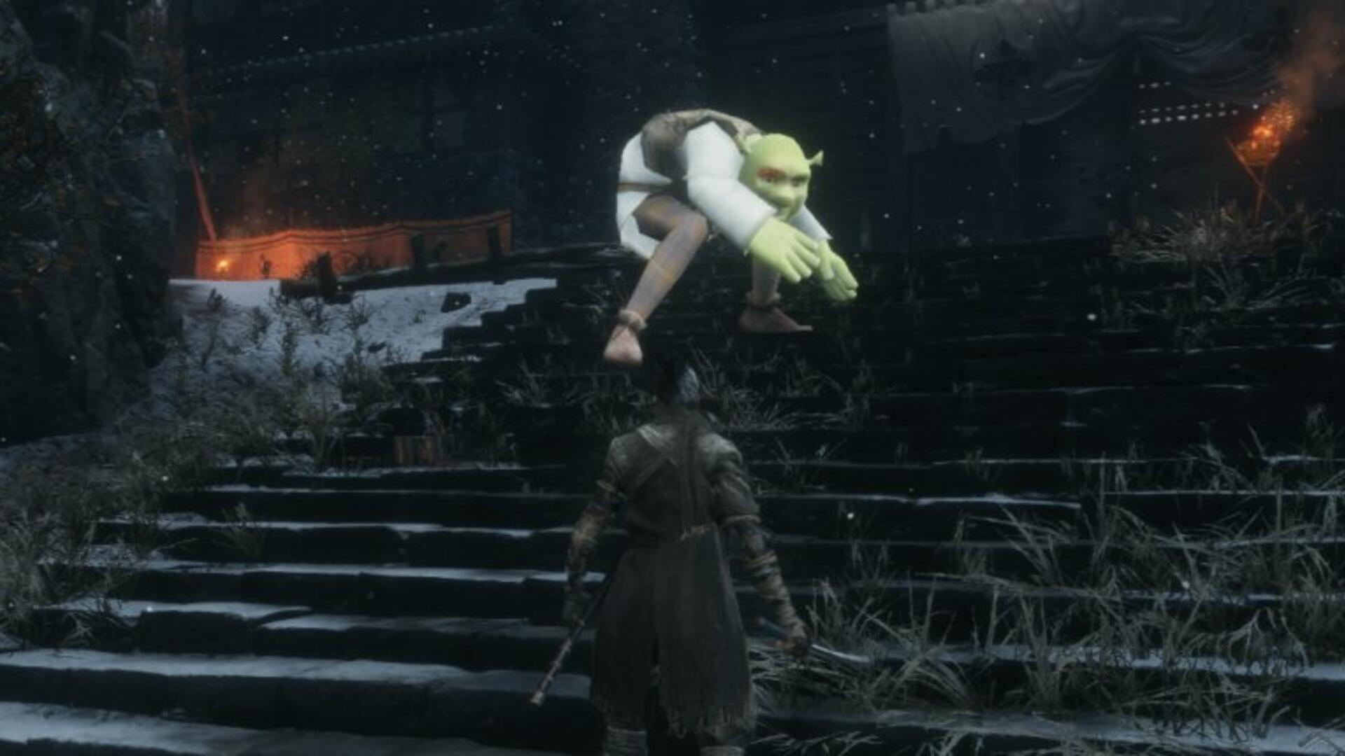 Shrek in Sekiro Is the Mod You Didn't Know You Needed