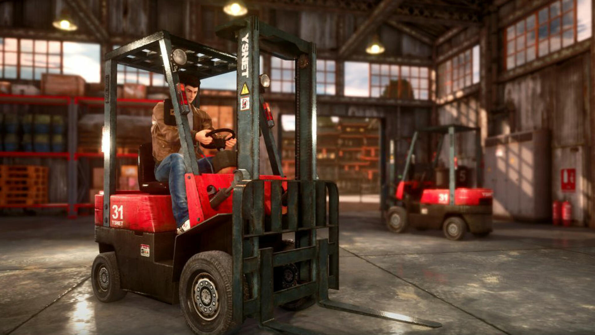 Yes, Shenmue 3 Will Have Forklifts