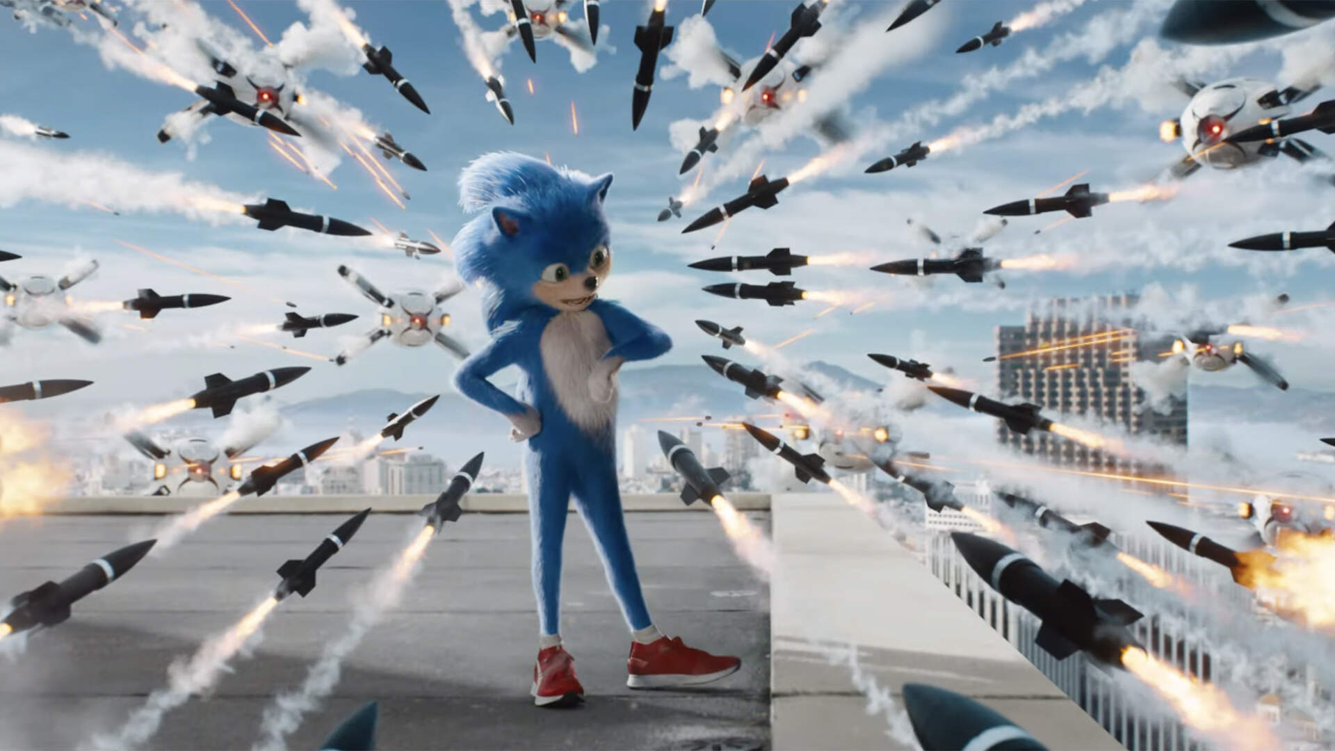 "Fans ""Will Be Pleased"" With Sonic the Hedgehog's Movie Redesign, Paramount Says"