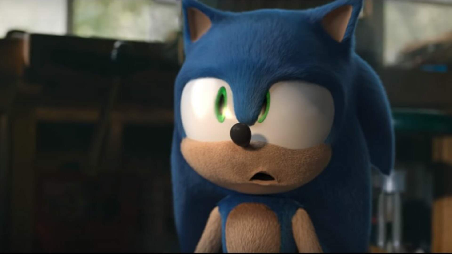 A Sonic The Hedgehog Fan Replaced Movie Sonic S Model But Now His Mouth Is Really Weird Usgamer