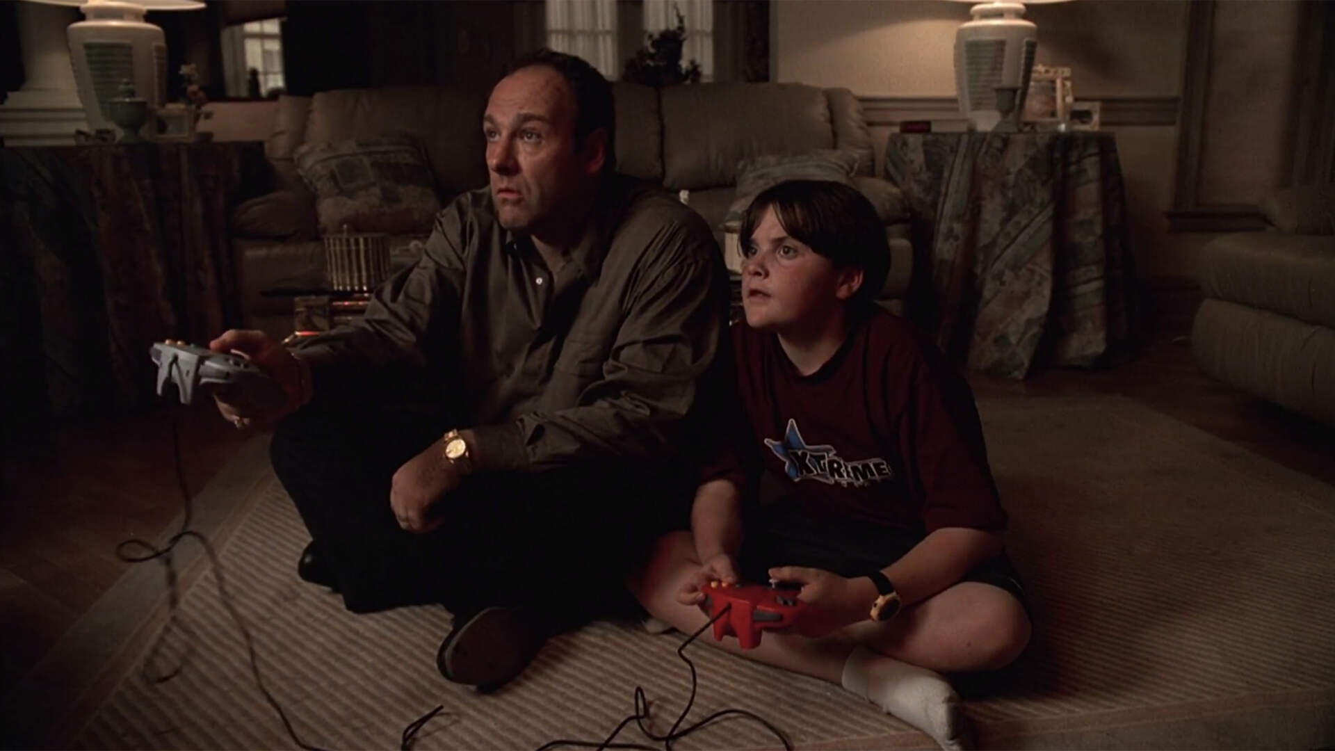 Happy 20th Anniversary to Tony Soprano Badly Playing Mario Kart 64