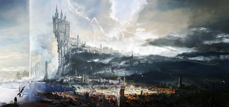 Concept Art for the Final Fantasy 14 Team's Next Gen Game