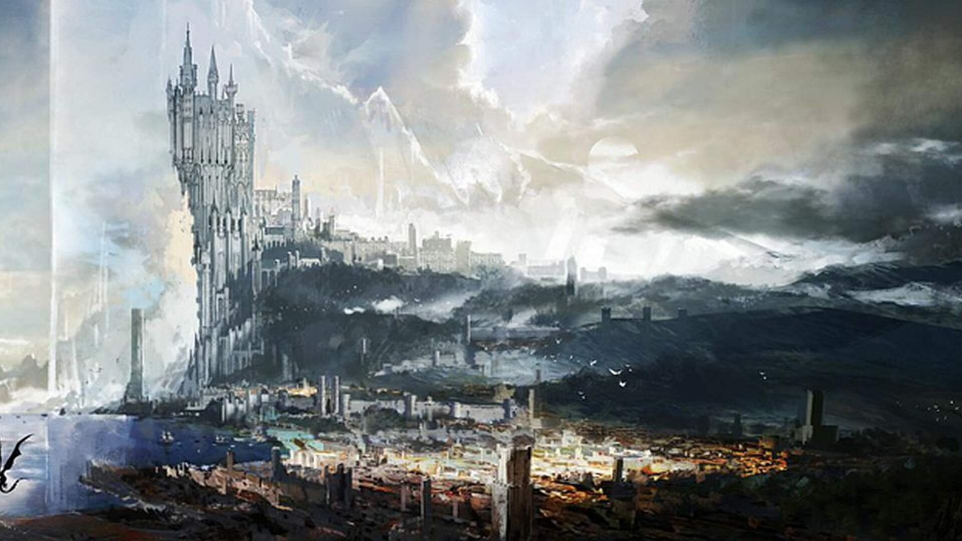 Concept Art for the Final Fantasy 14 Team's Next-Gen Game Emerges