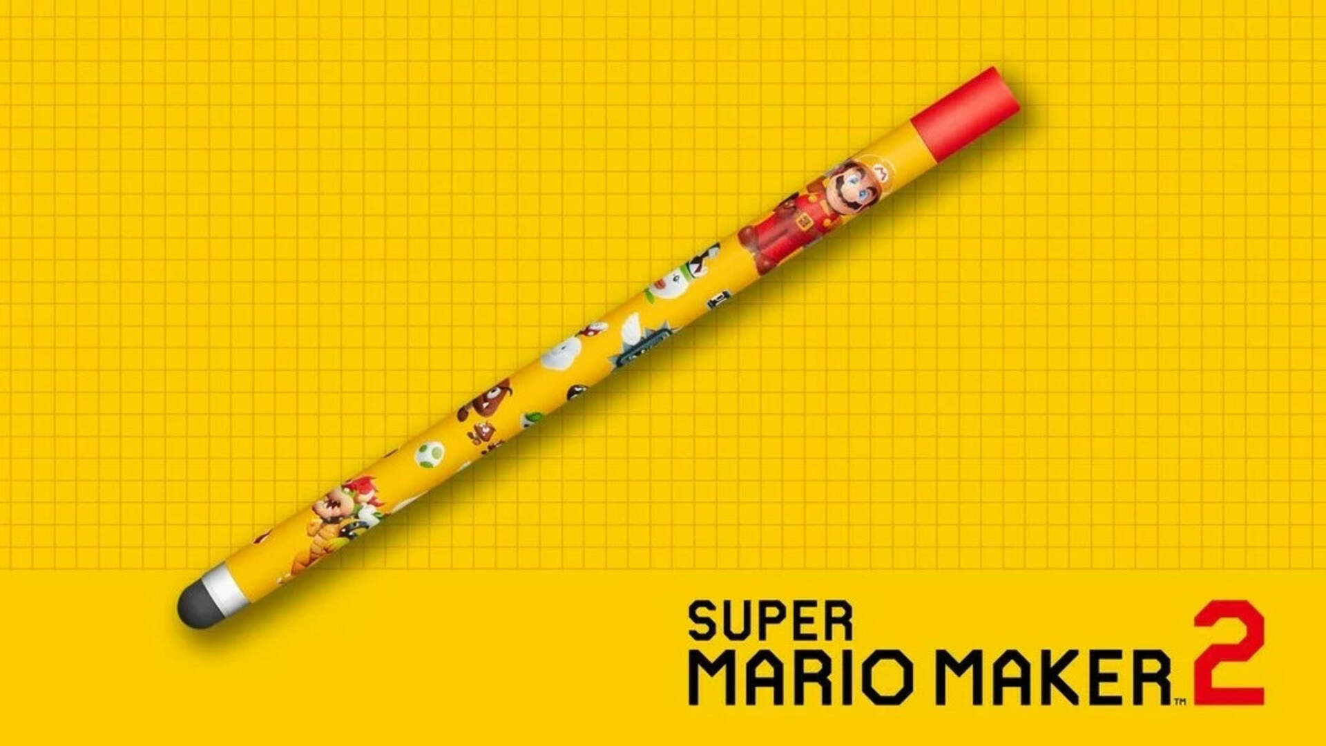 Super Mario Maker 2's Adorable Themed Stylus Isn't Coming to North America