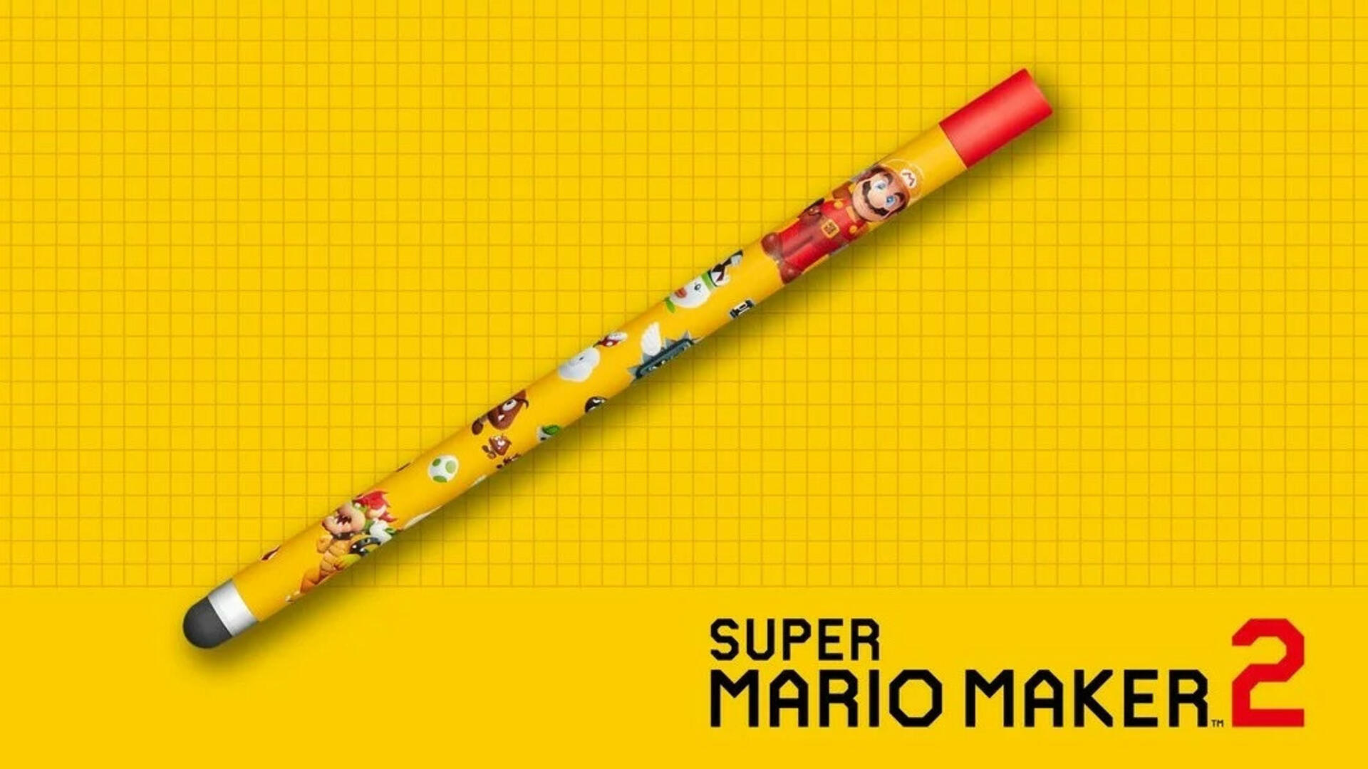 Super Mario Maker 2 Stylus Only Announced for Japan and Europe So Far