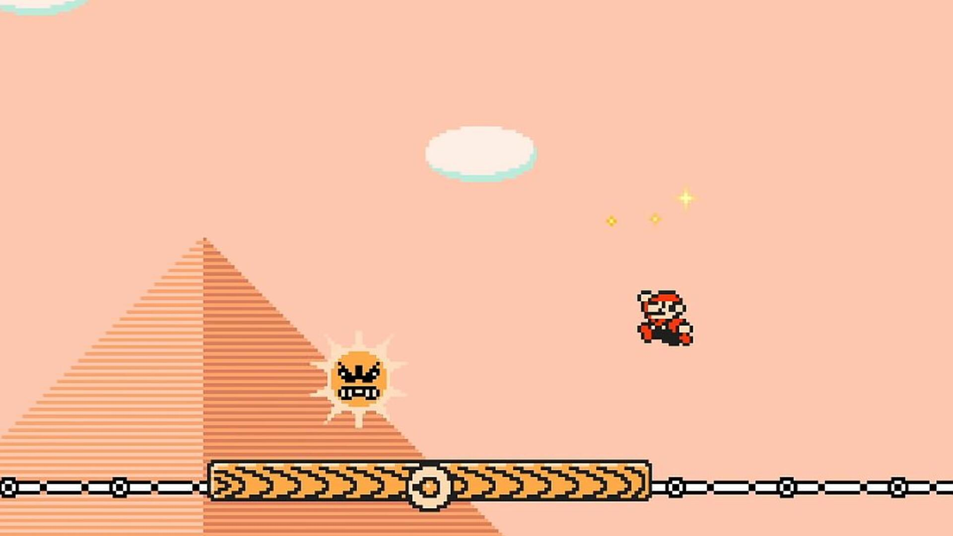 Super Mario Maker 2 Proves the Angry Sun Never Had Mercy, Compassion, or a Soul