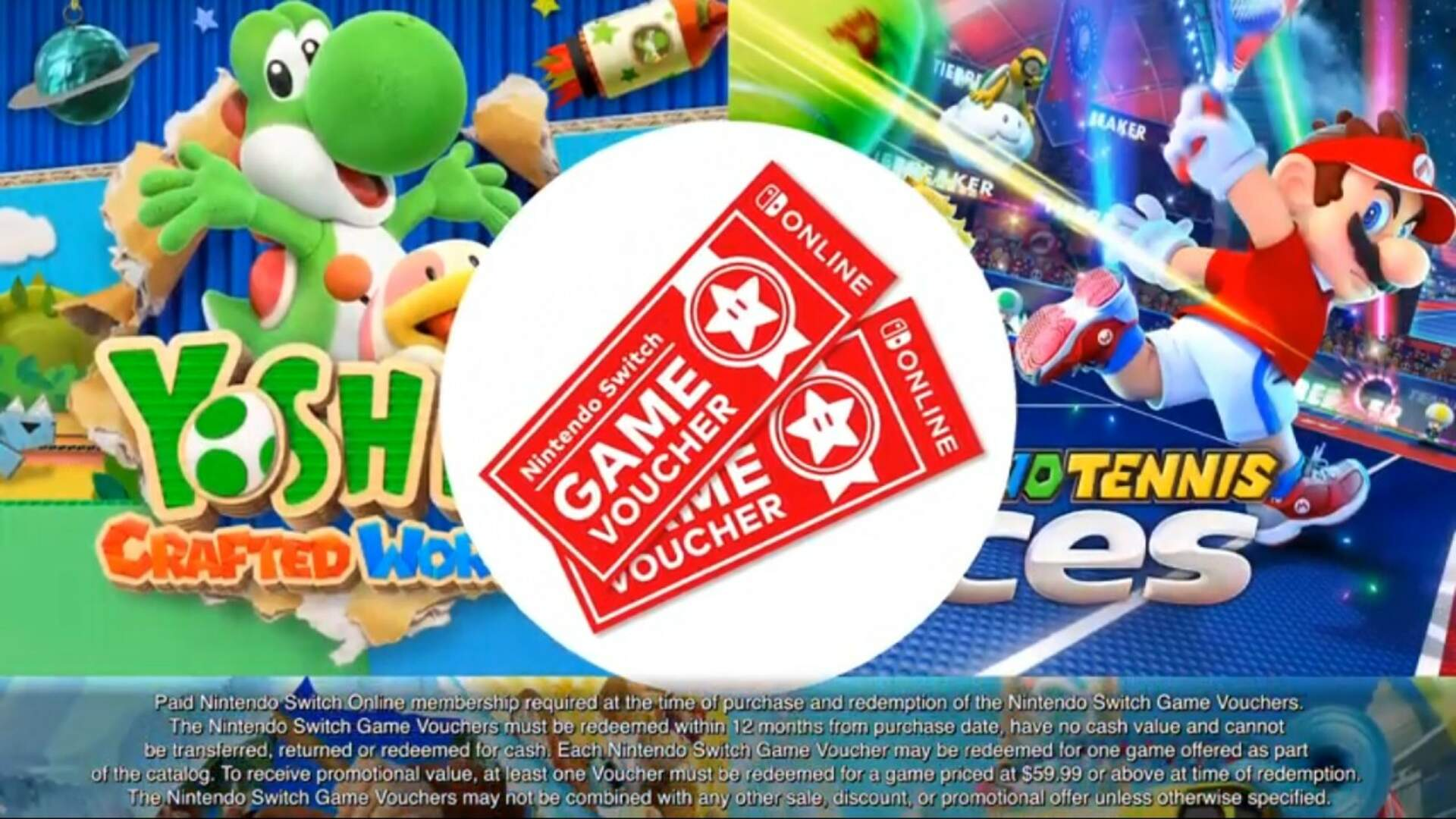 New Nintendo Switch Game Vouchers Offer Switch Online Members Exclusive Discounts on Games Including Super Smash Bros. Ultimate