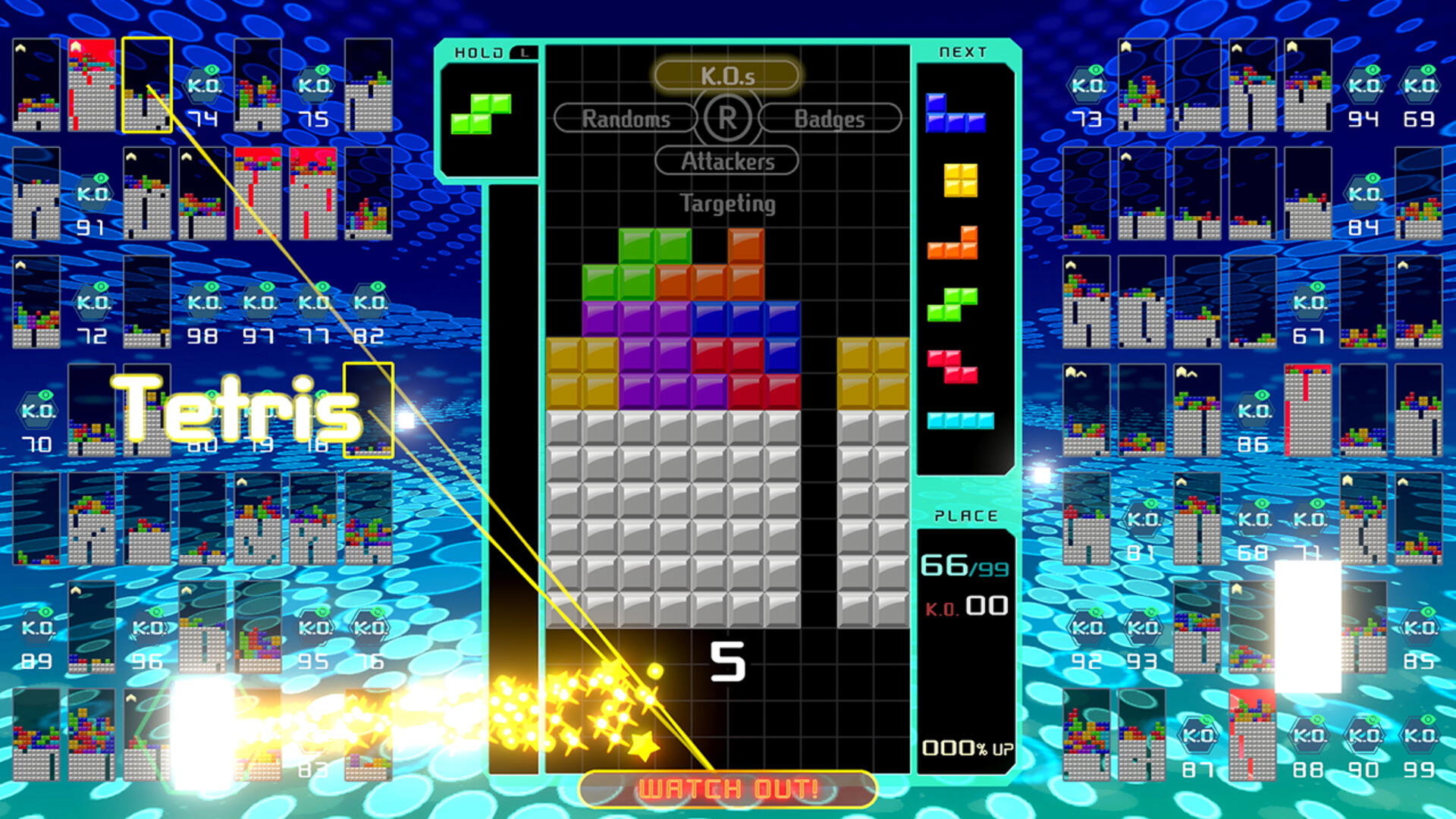 You Can Win Prizes by Playing Tetris 99 This Weekend
