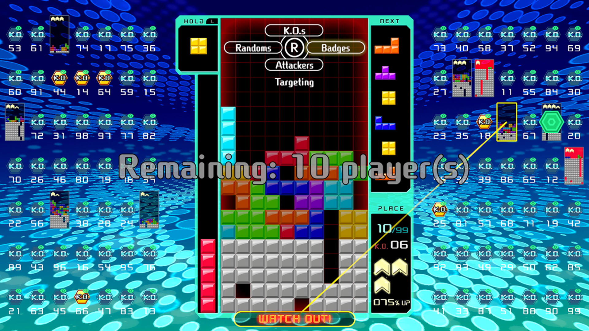 Tetris 99 is the Crucible That Will Make You a Better Tetris