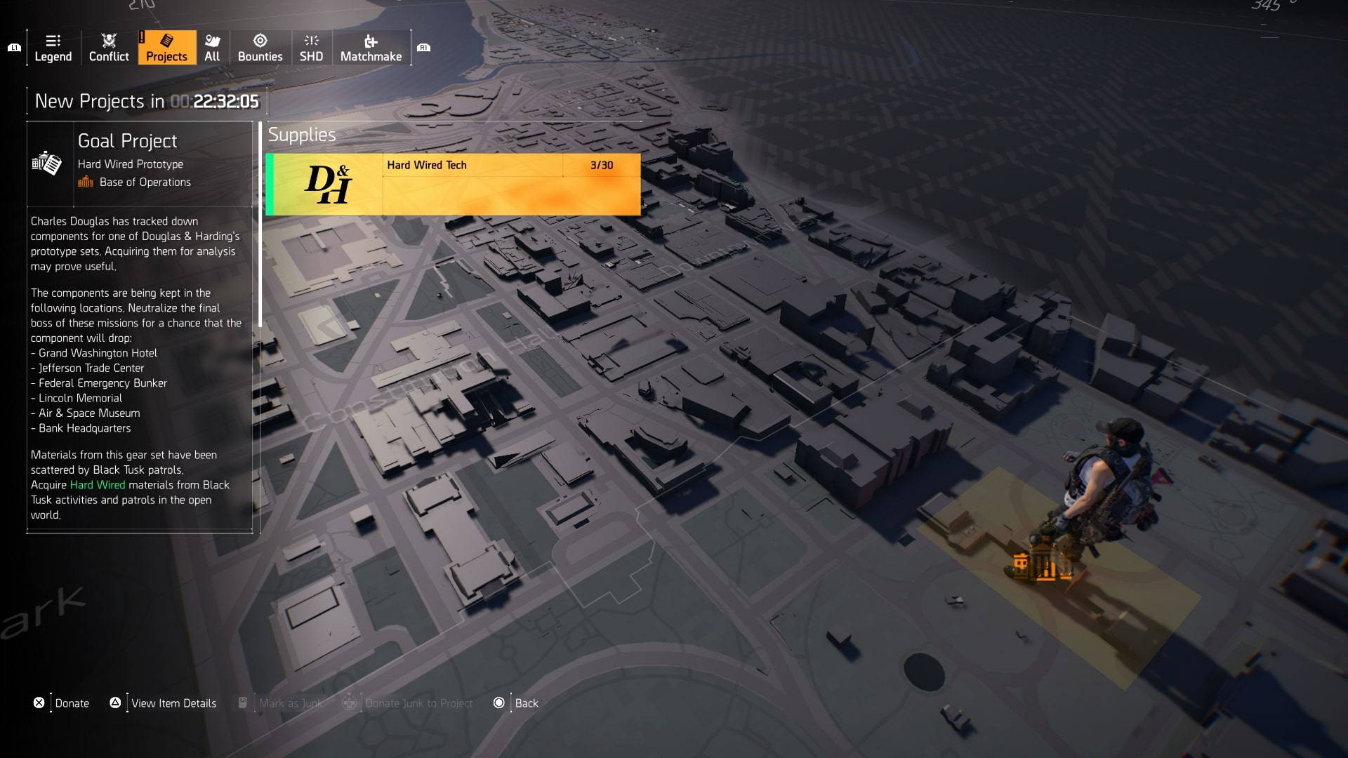 The Division 2 Hard Wired - Hard Wired Tech, Hard Wired Gear