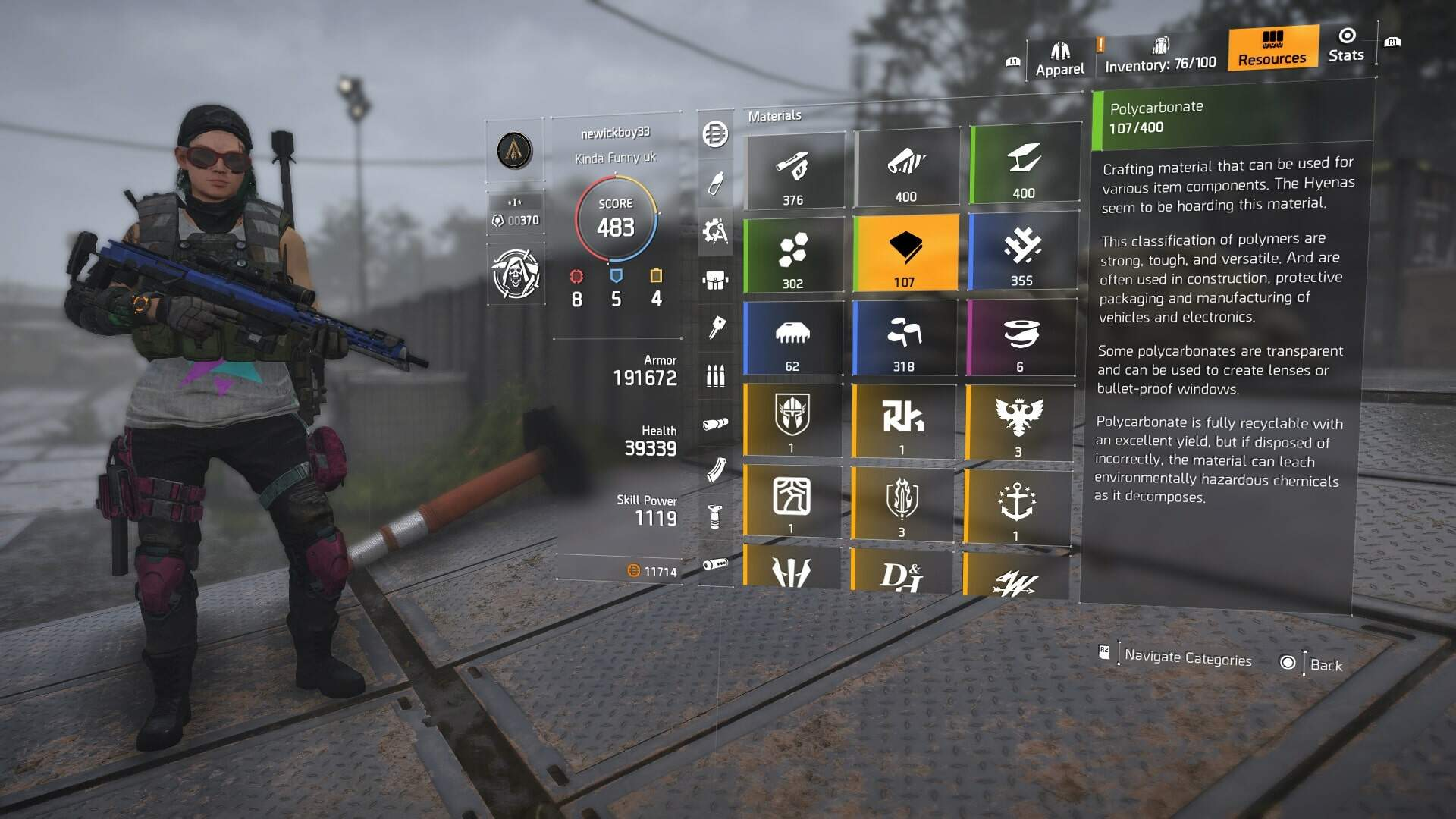 The Division 2 Polycarbonate - Polycarbonate Farming, Where to Get Polycarbonate Fast