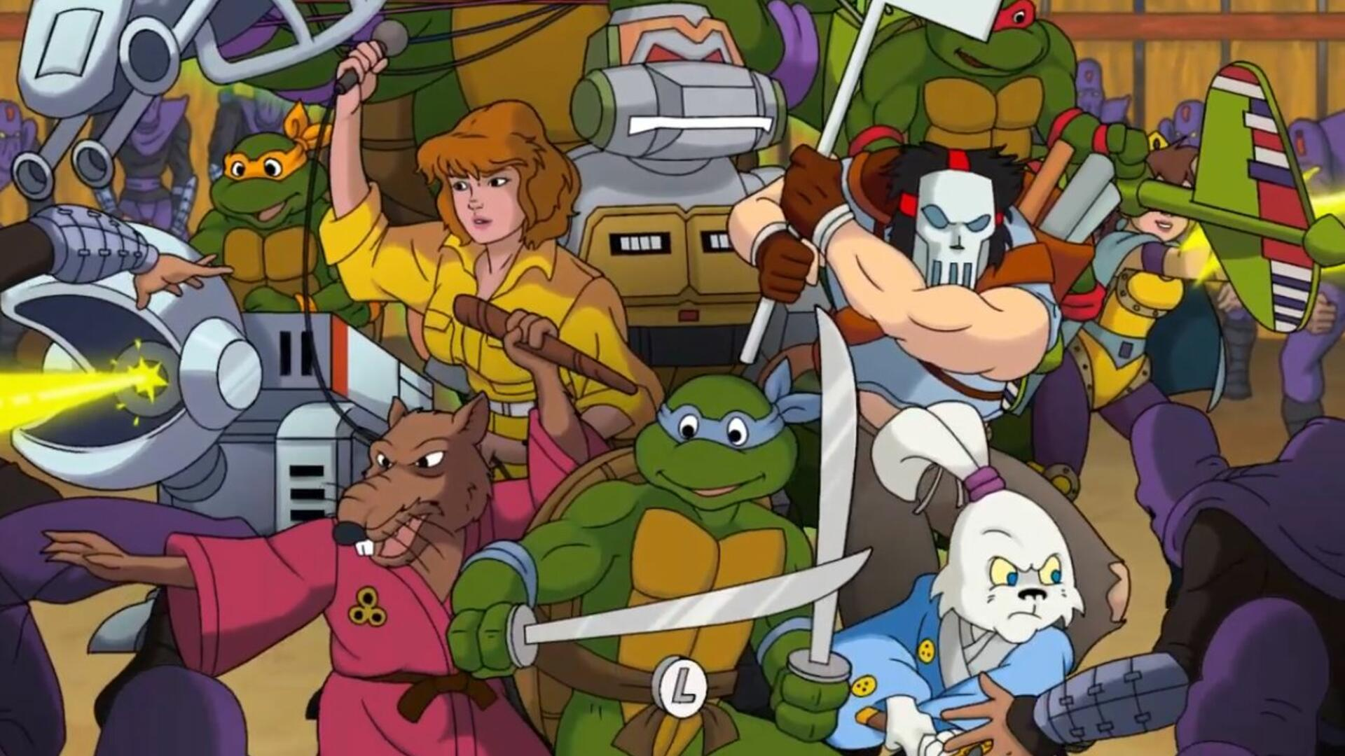 Teenage Mutant Ninja Turtles Nes Fans Create Awesome Looking Original Retro Throwback Usgamer