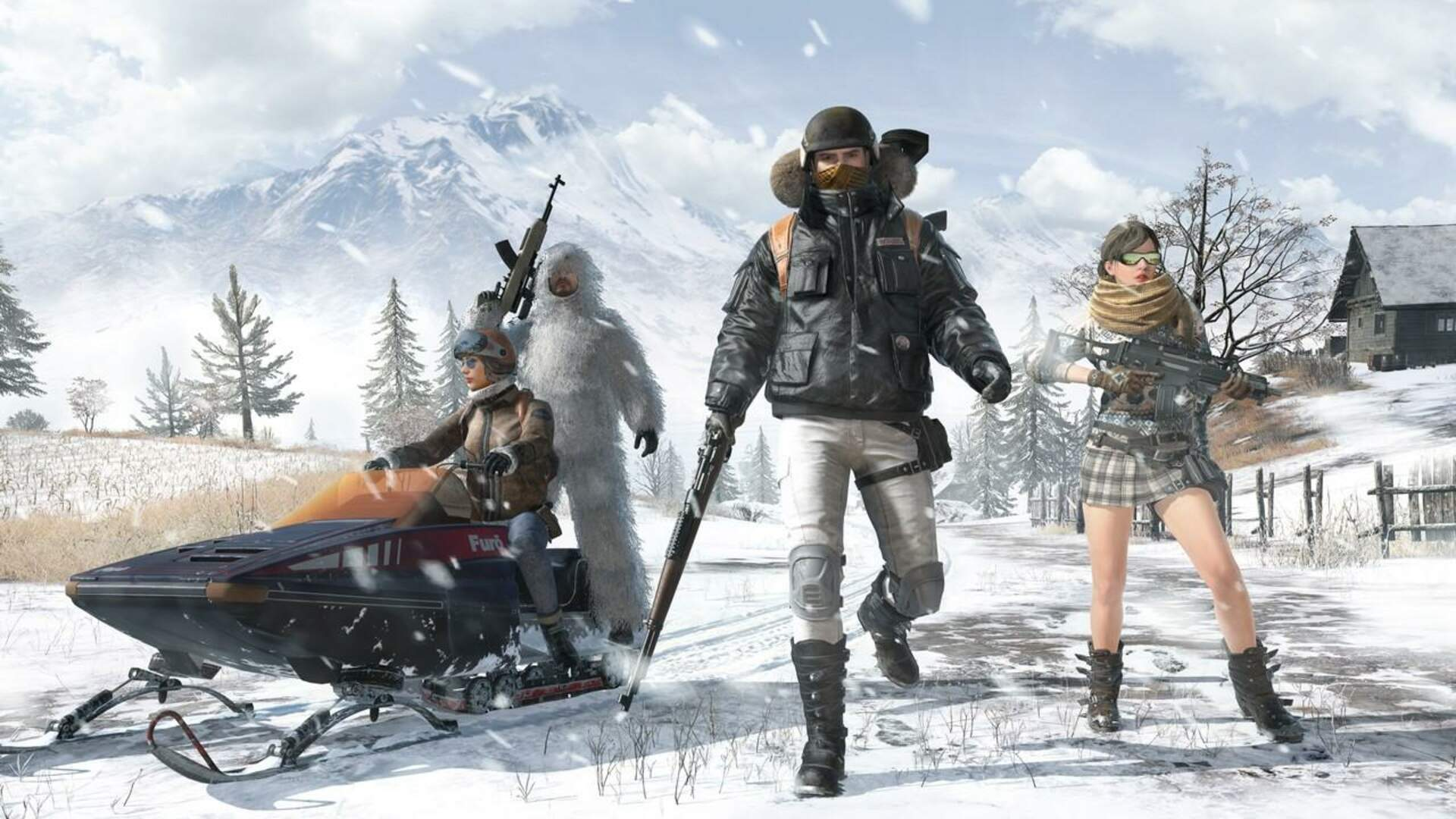 PUBG Snow Map Vikendi Now Available for PS4 and Xbox One