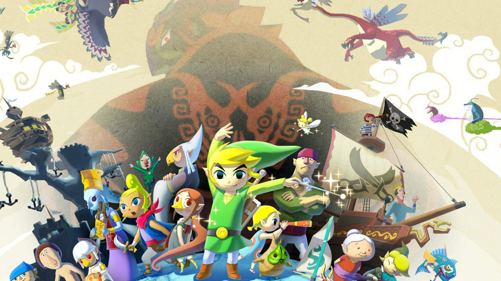 Link Actually Sails On The Great Ocean In This Moving Wind Waker