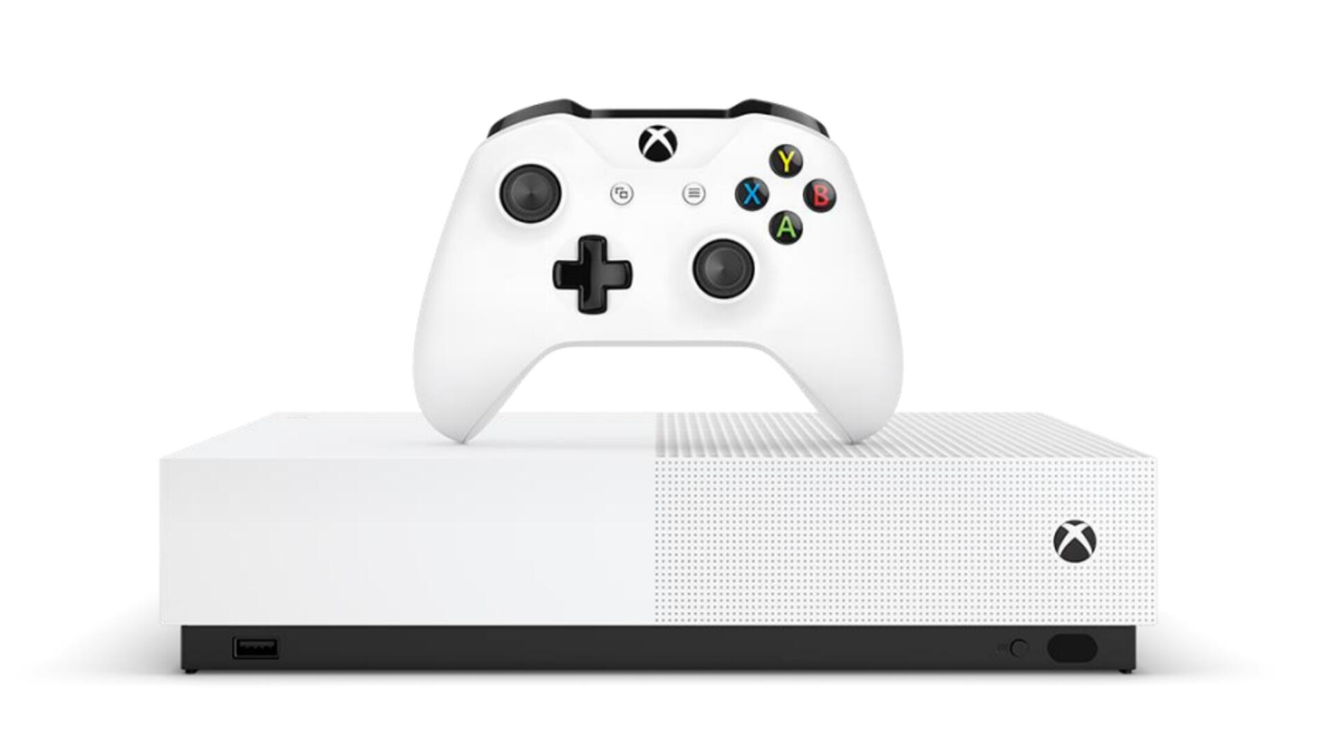 Xbox One S All-Digital Drops the Disc Drive But Still Costs a Cool $250