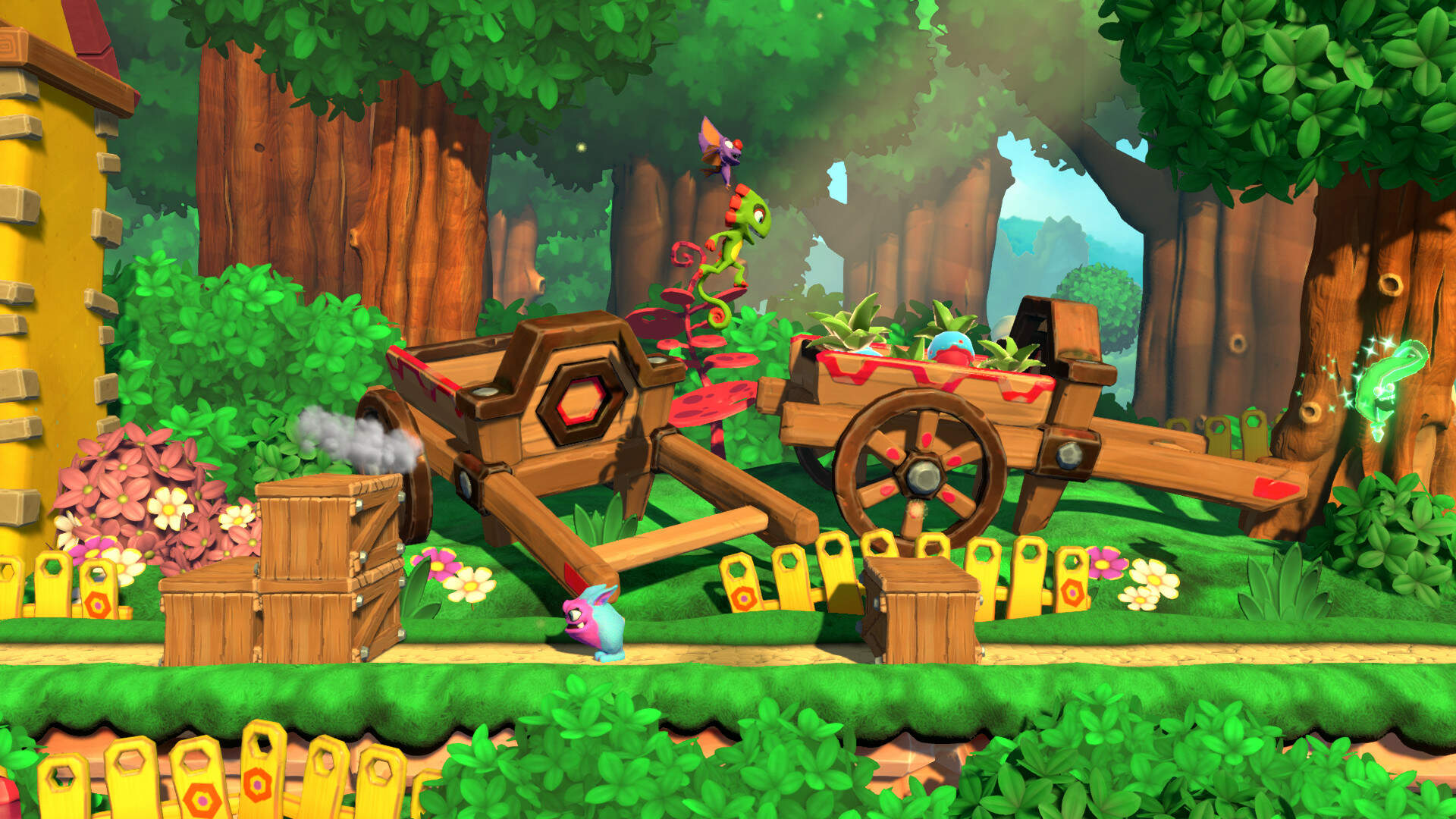 Yooka-Laylee and the Impossible Lair Trades 3D Exploration for 2D Platforming