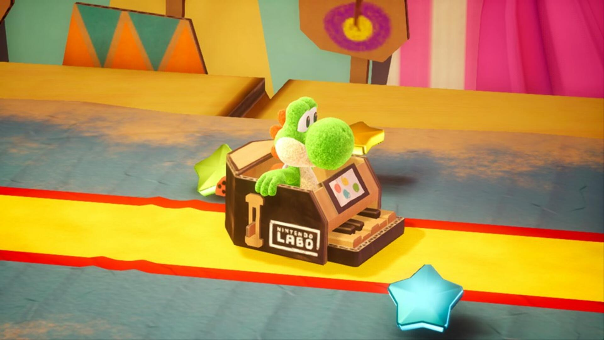 Yoshi's Crafted World Has the Cleverest Graphics I've Seen in a Game