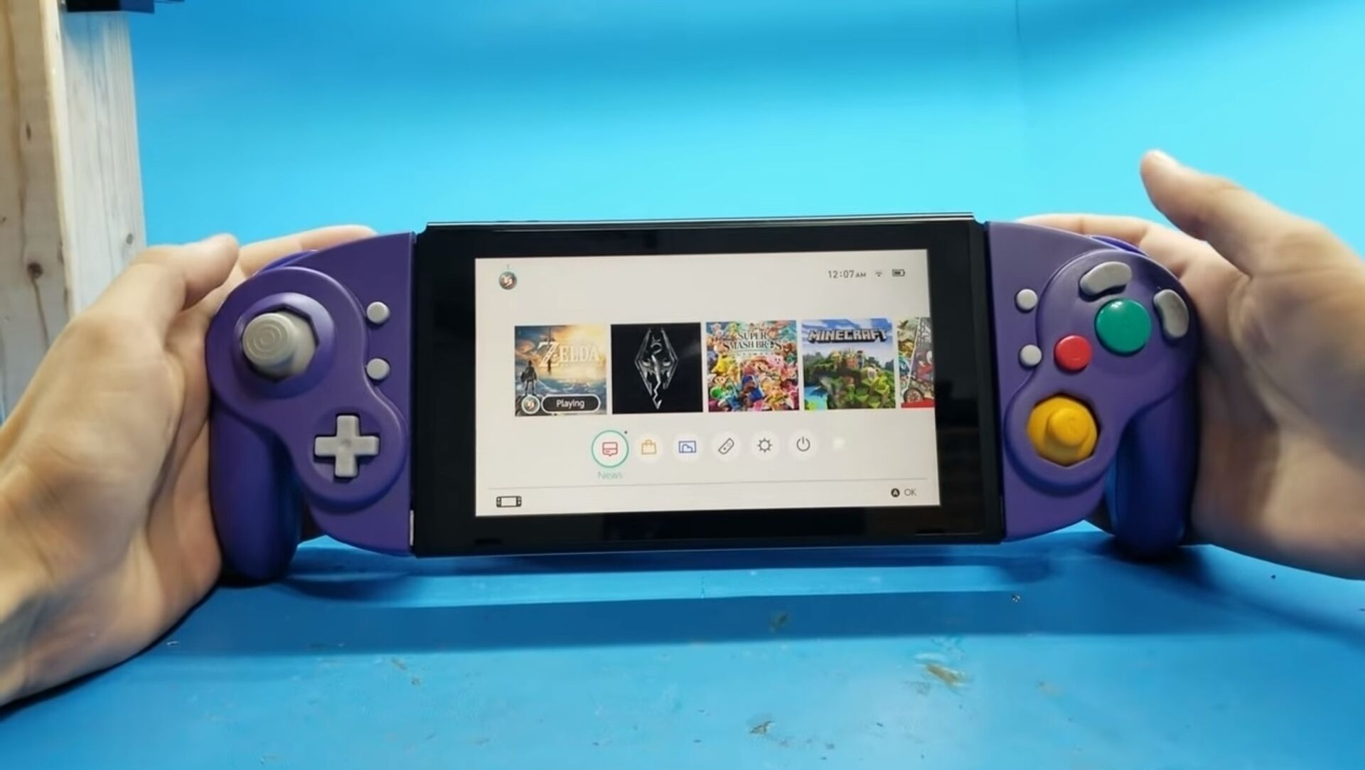 Modder Makes Gamecube Joy Cons And They Work Perfectly
